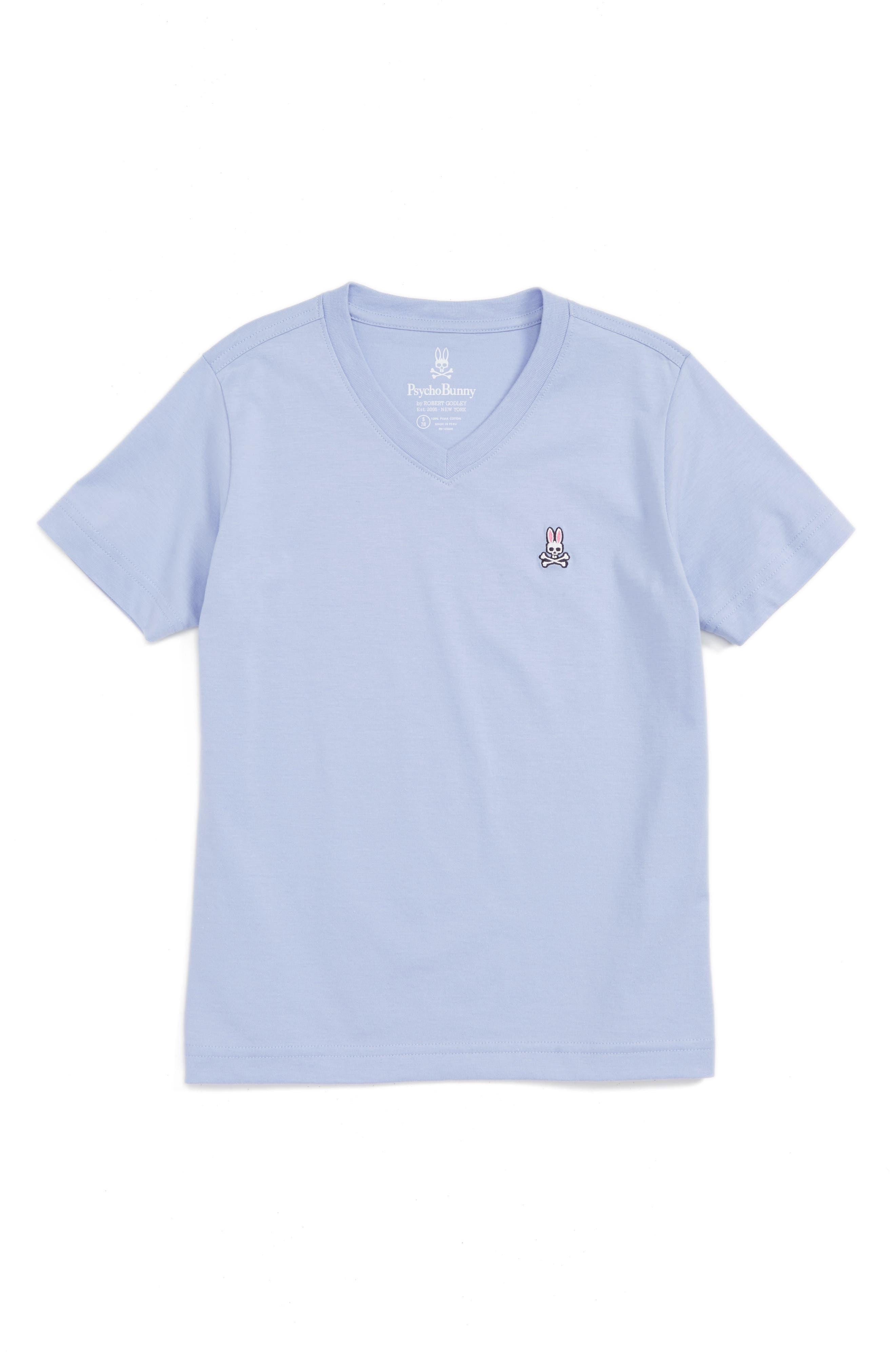 Alternate Image 1 Selected - Psycho Bunny V-Neck T-Shirt (Little Boys & Big Boys)