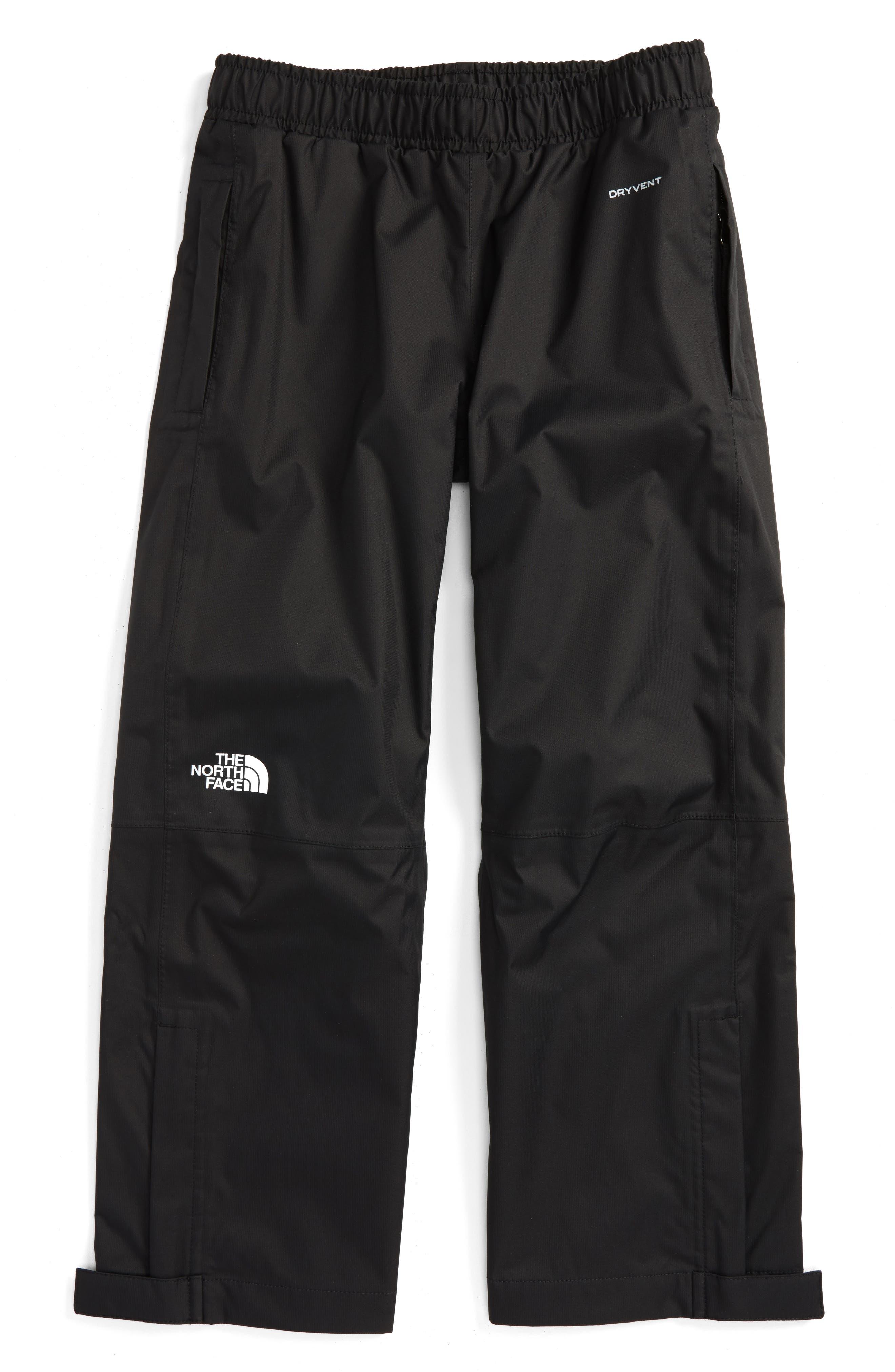 Main Image - The North Face 'Resolve' Waterproof Rain Pants (Little Boys)