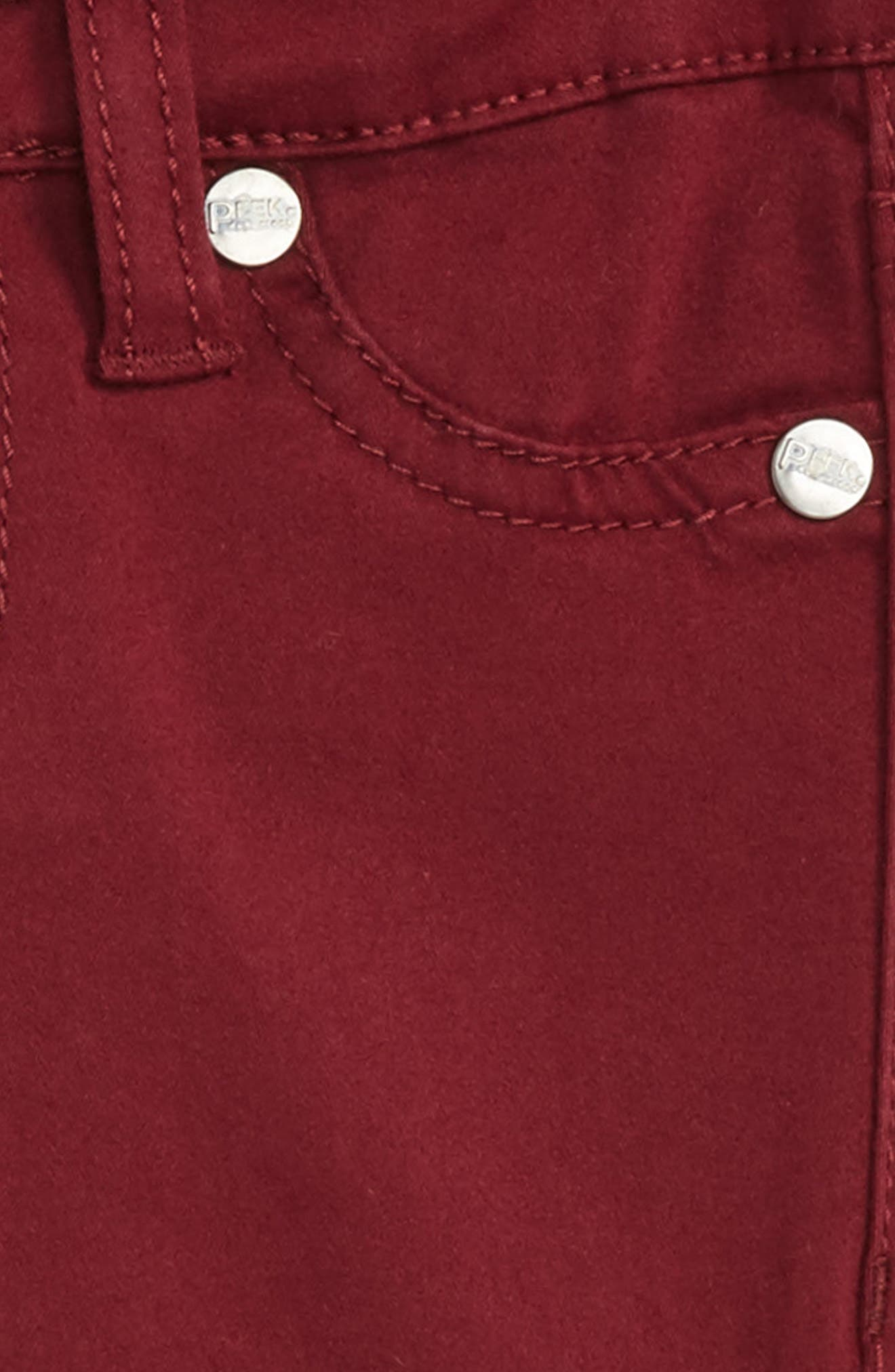 Taylor Skinny Jeans,                             Alternate thumbnail 3, color,                             Berry