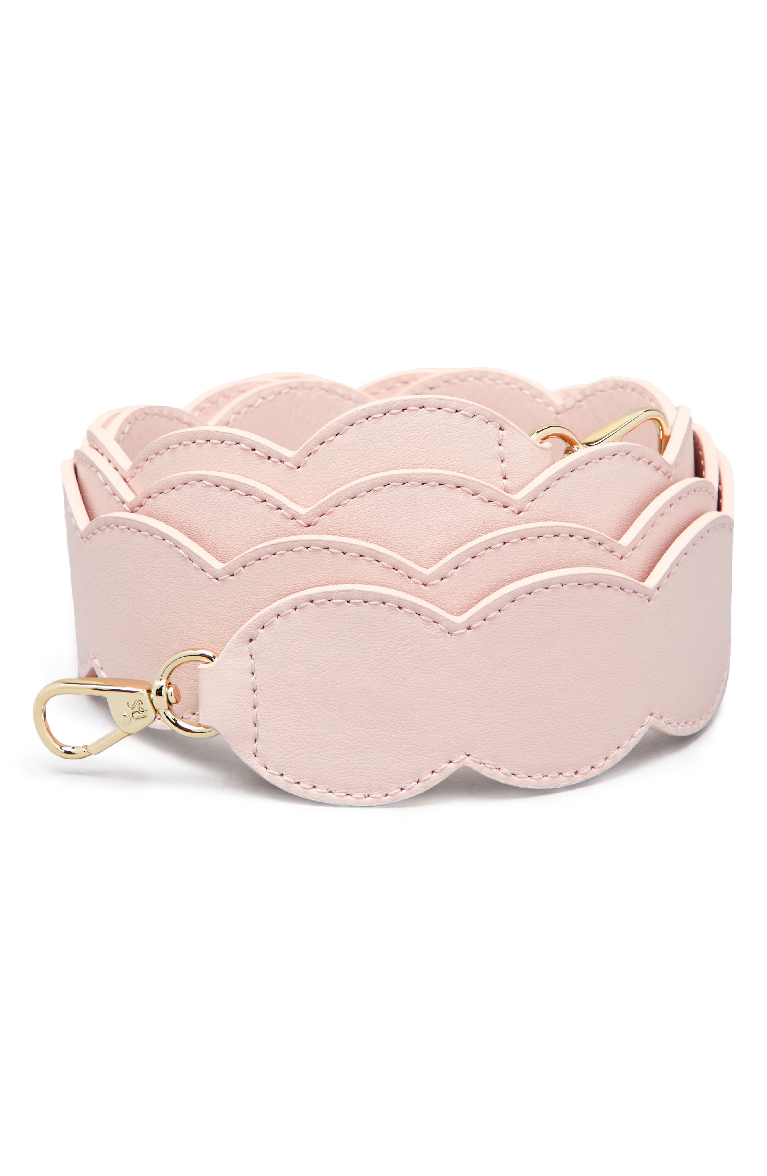 Scalloped Strap,                             Main thumbnail 1, color,                             Cotton Candy