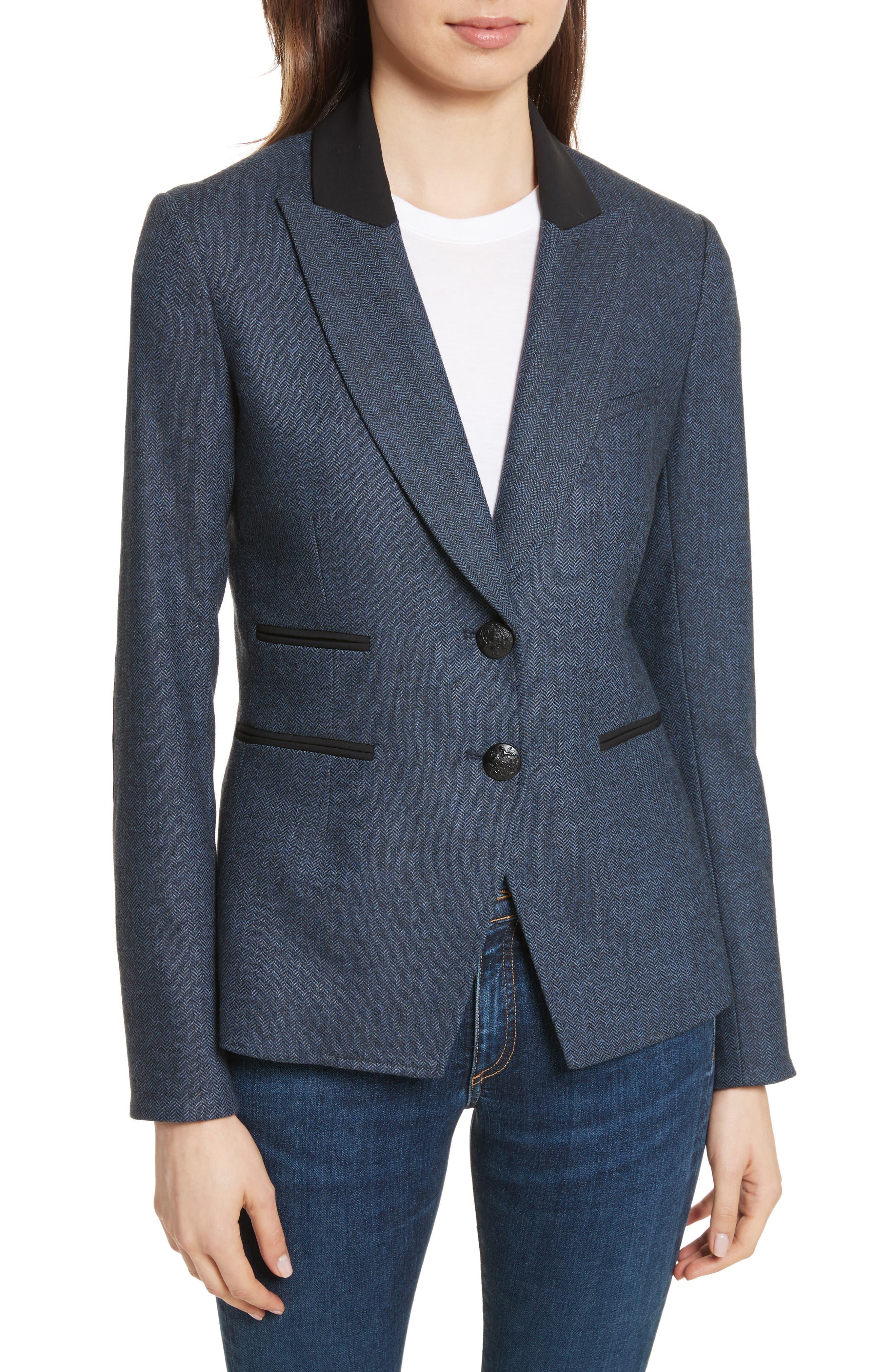 Hudson Jacket,                         Main,                         color, Blue