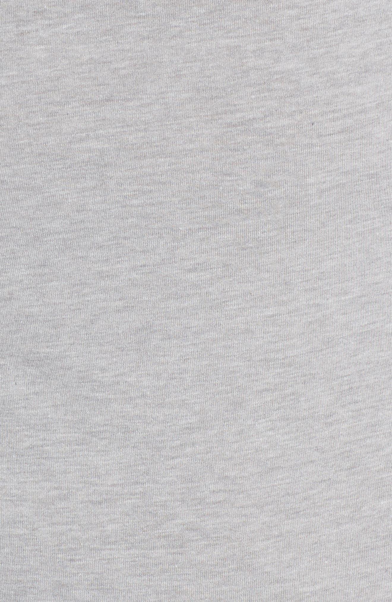 Long Sleeve T-Shirt,                             Alternate thumbnail 5, color,                             Andover Grey