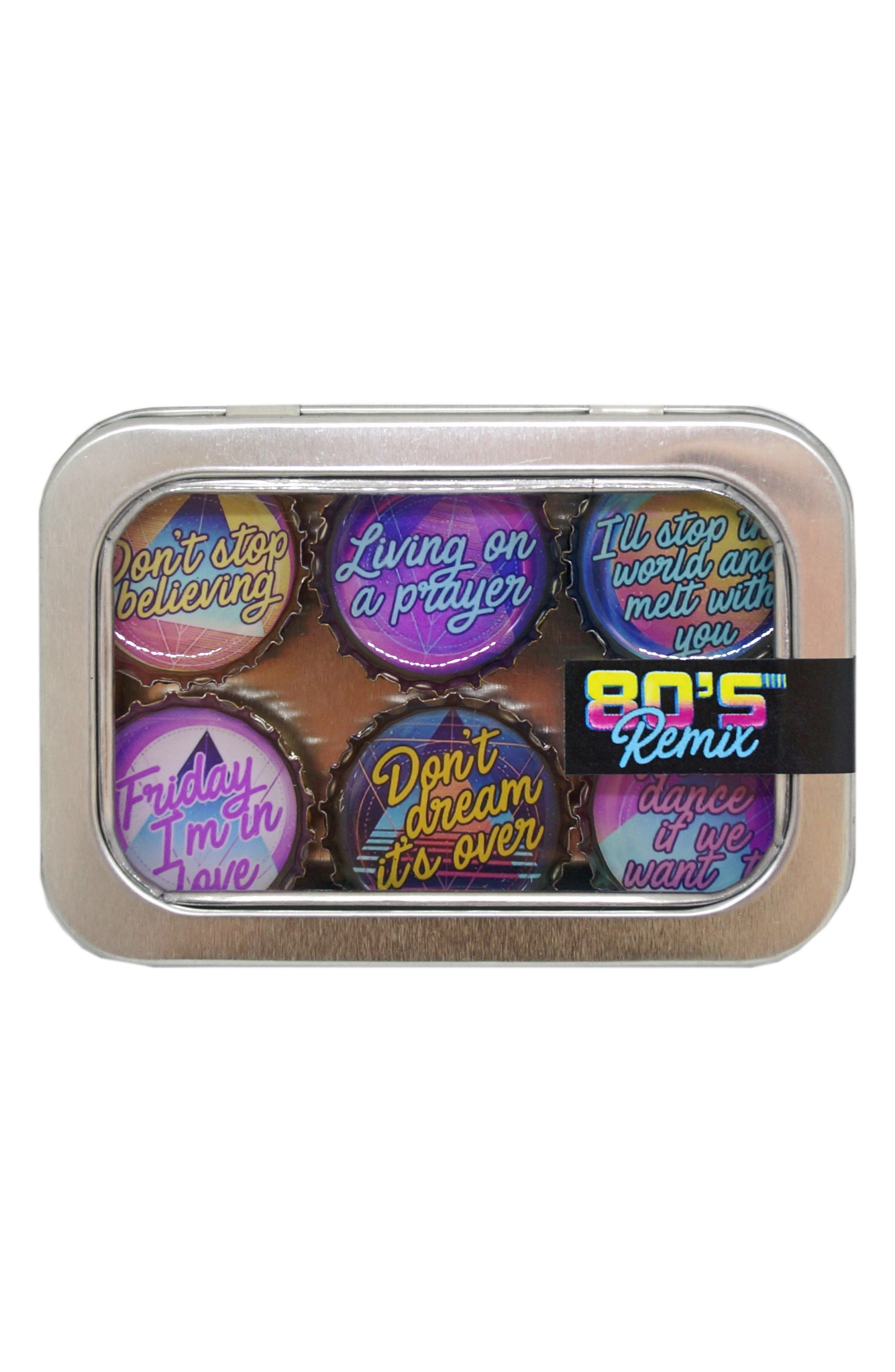 kate grenier 80s Remix 6-Pack Magnets