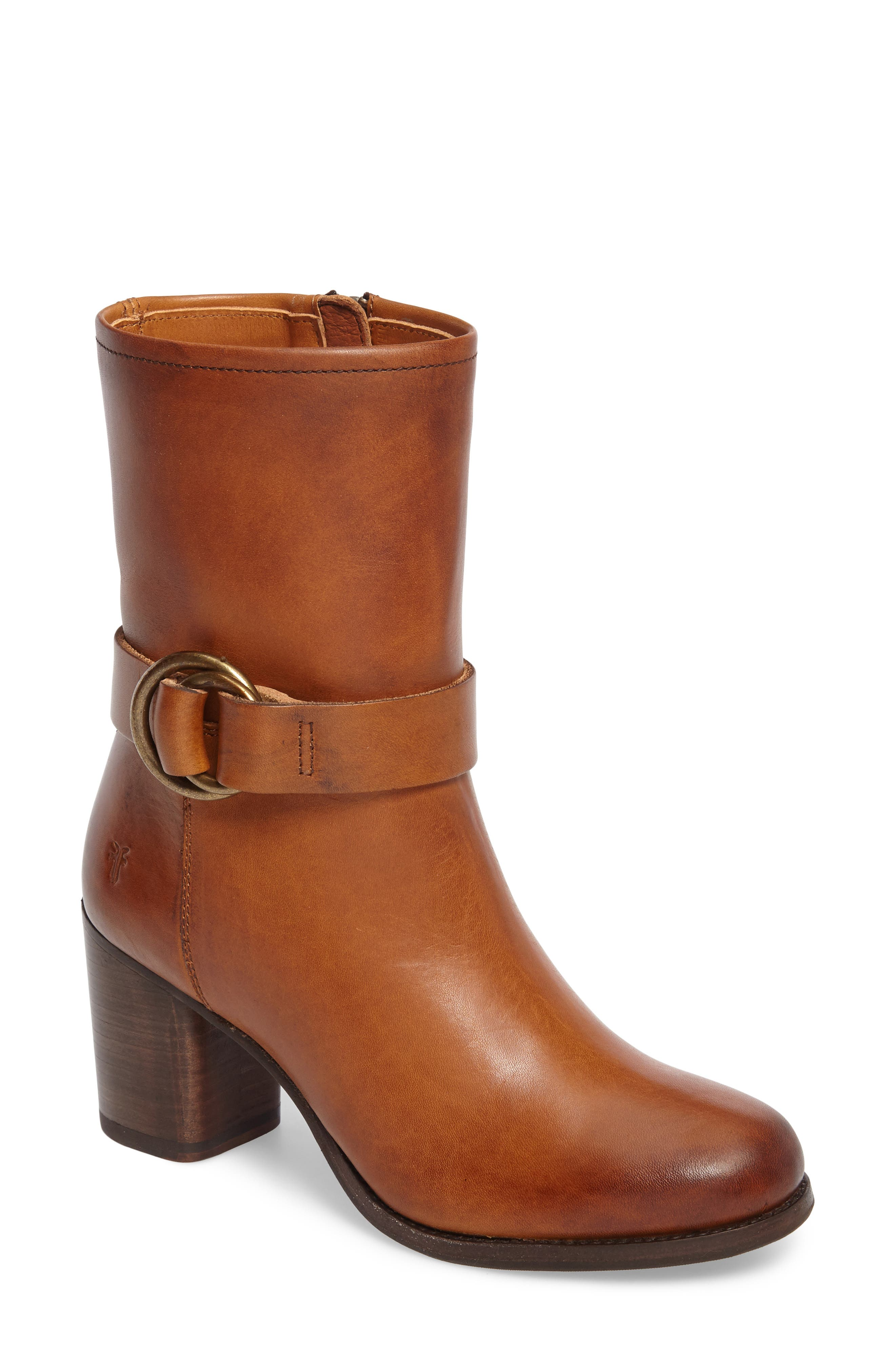 Addie Harness Boot,                             Main thumbnail 1, color,                             Brown