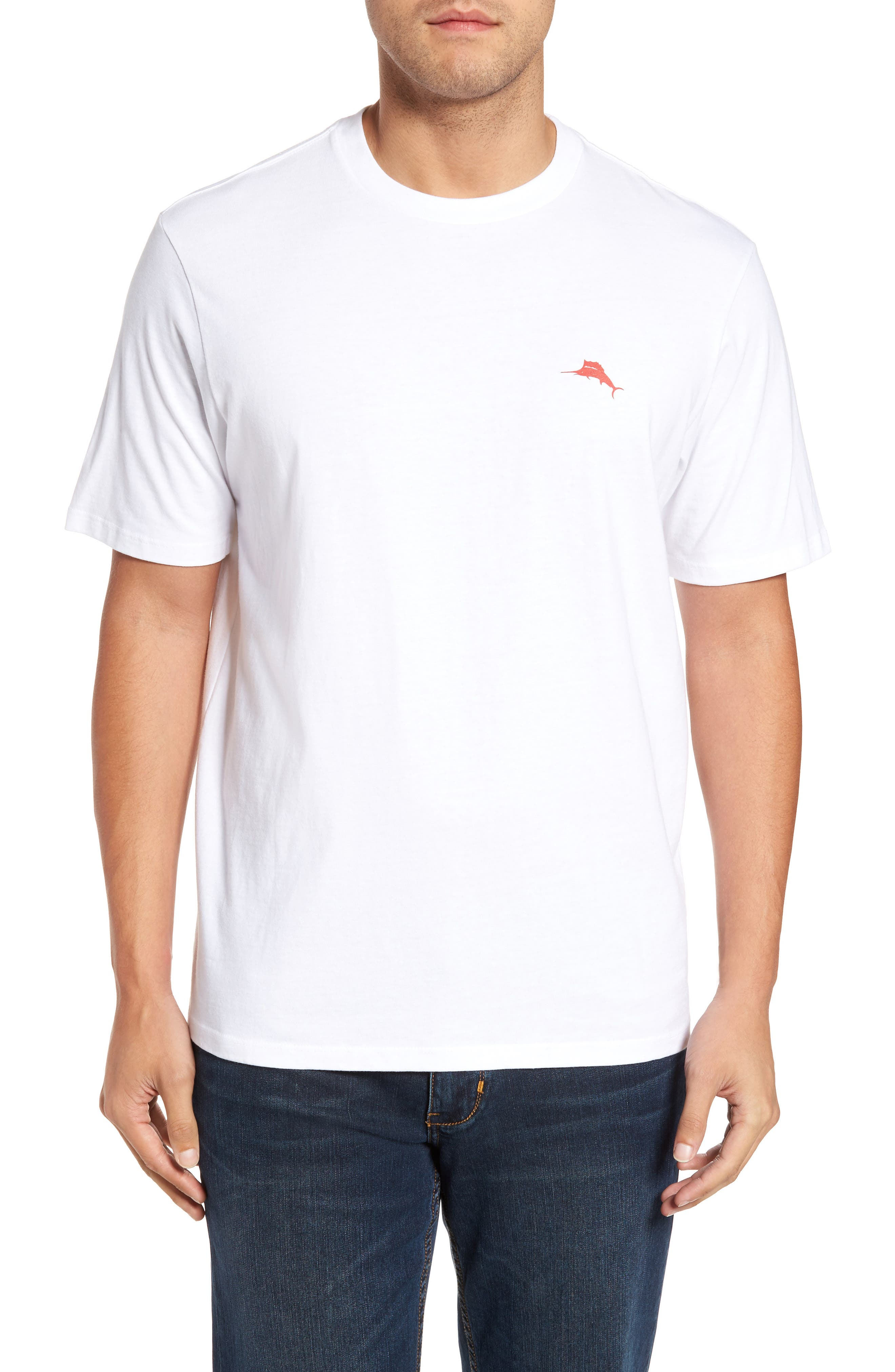 Rum Rum Rudolph T-Shirt,                             Alternate thumbnail 2, color,                             White