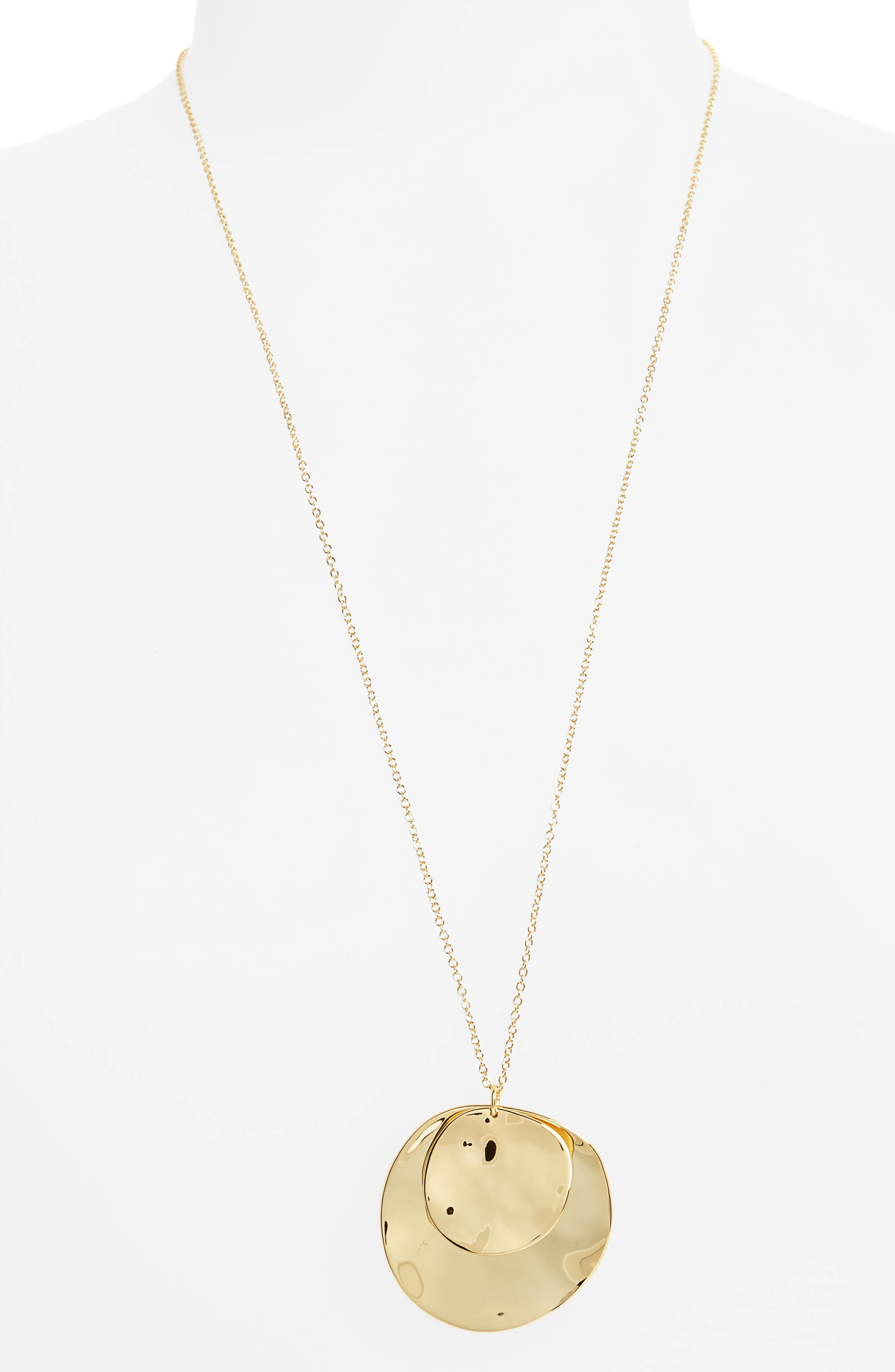 Alternate Image 1 Selected - gorjana Chloe Long Cluster Pendant Necklace