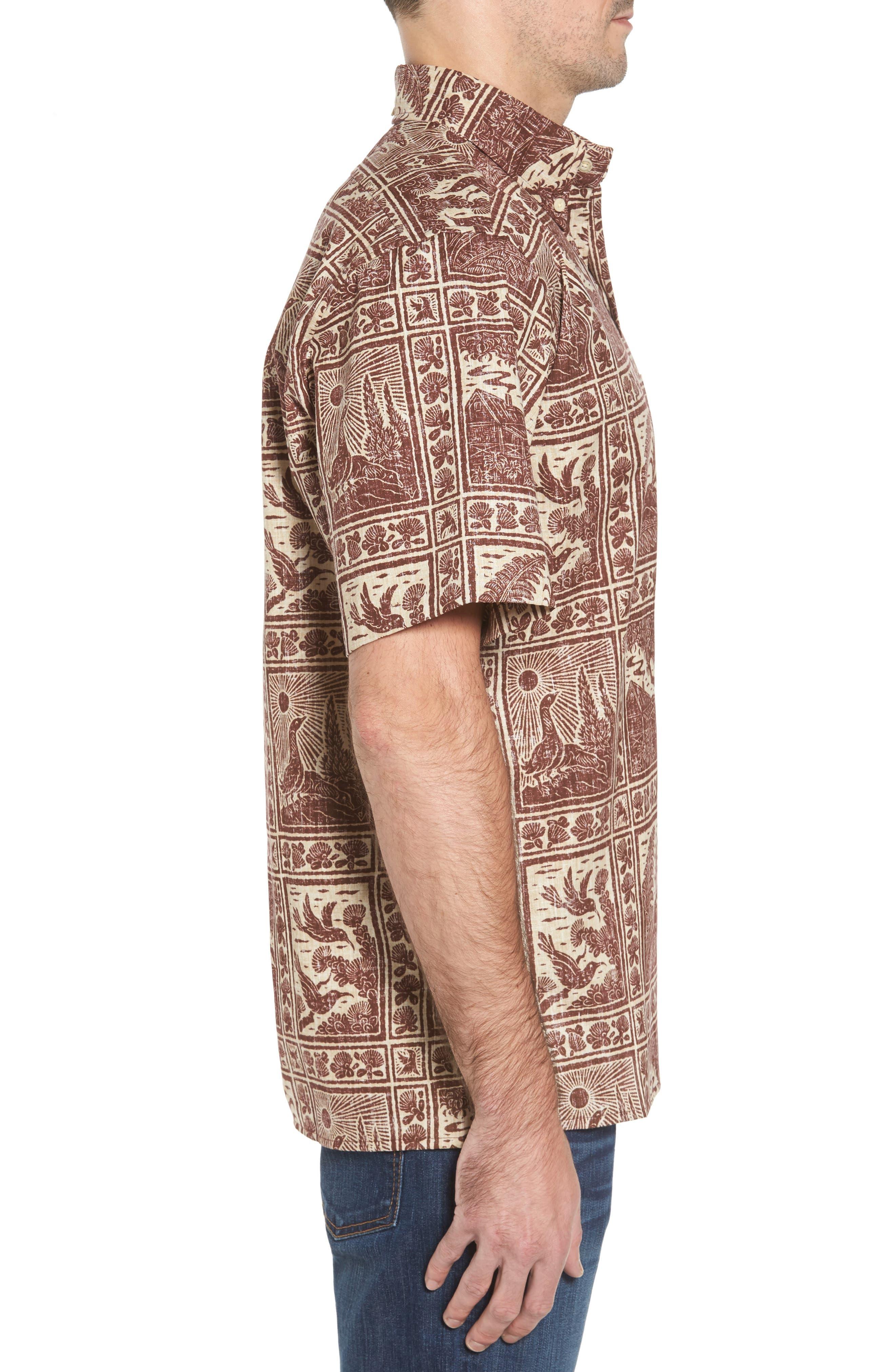 Alternate Image 3  - Reyn Spooner Volcano Park Classic Fit Sport Shirt