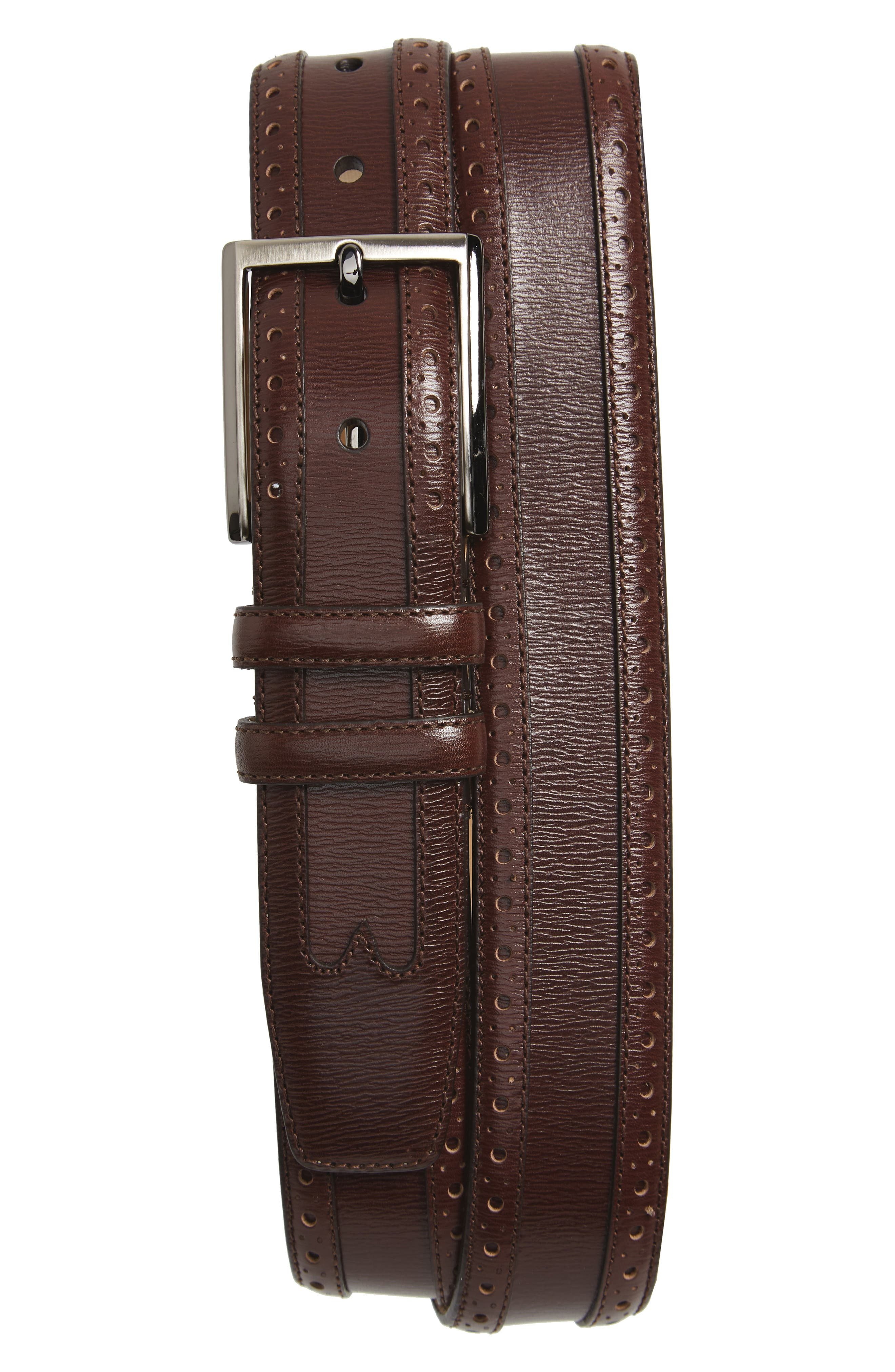 Alternate Image 1 Selected - Mezlan Leather Belt