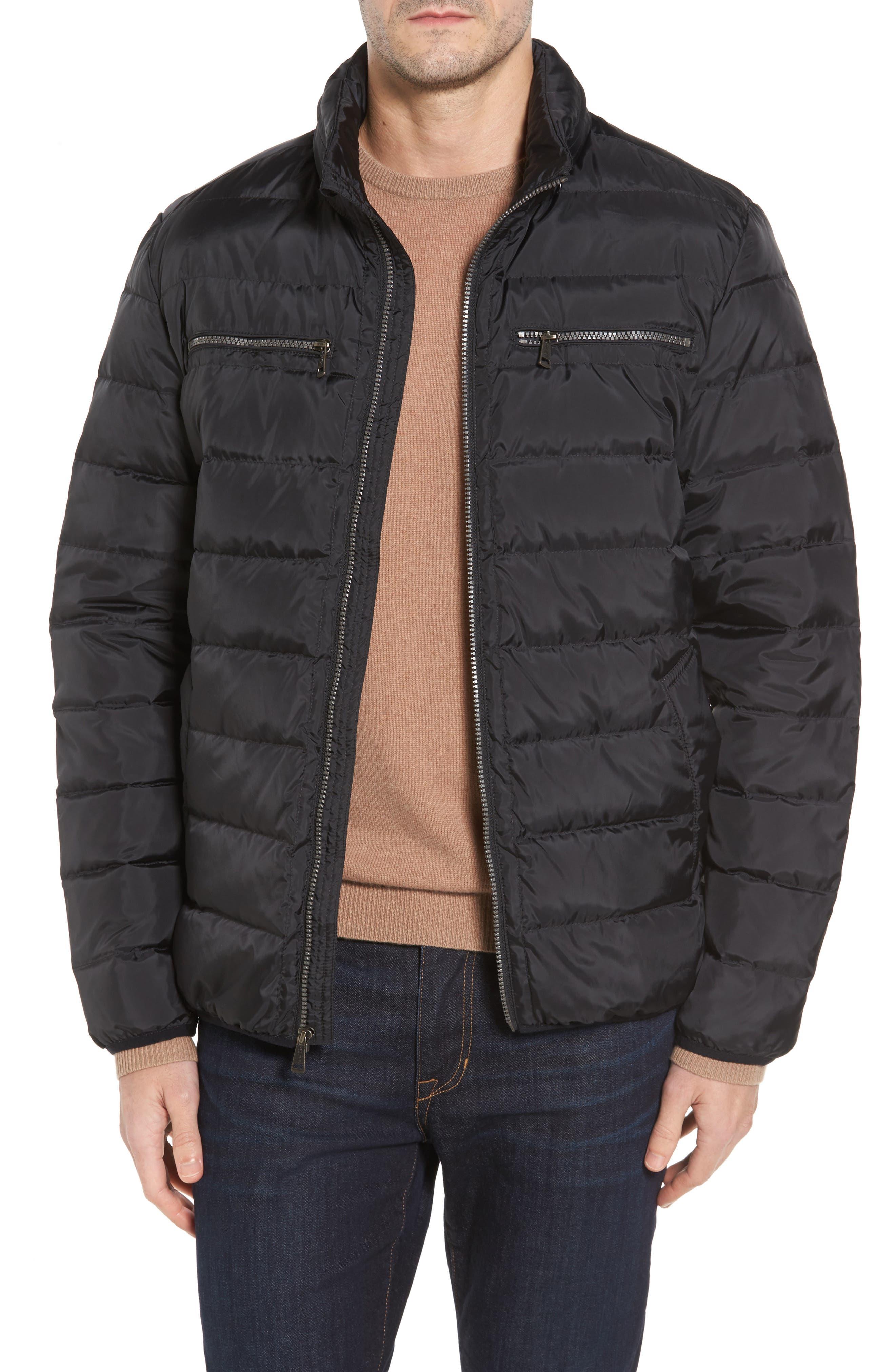 Packable Down Jacket,                         Main,                         color, Black