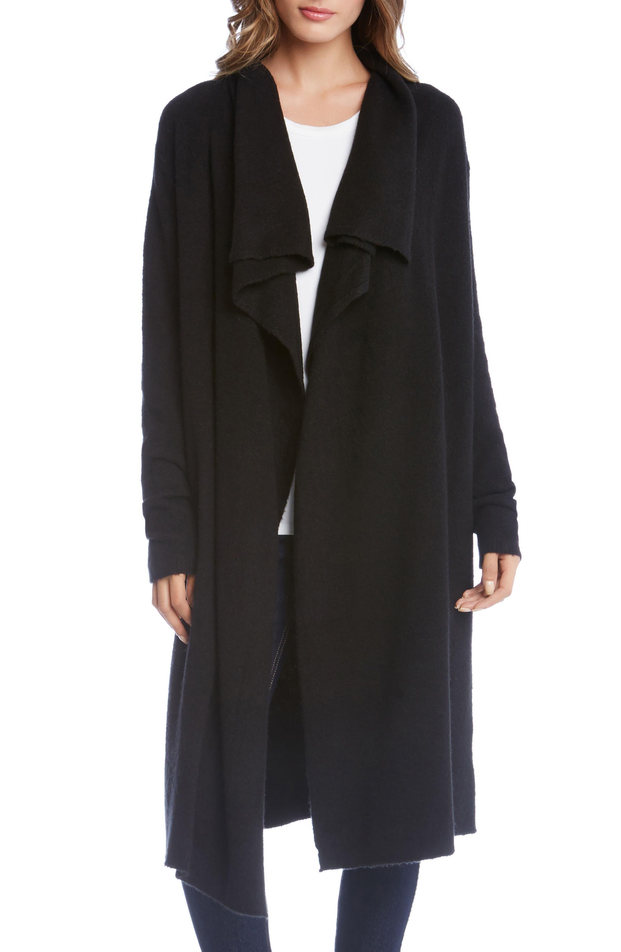 Karen Kane Drape Front Duster Jacket
