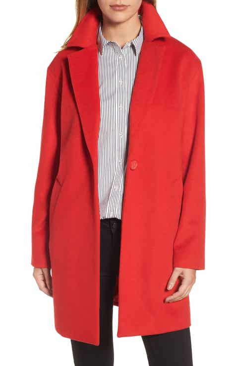 Women's Red Petite Coats & Jackets | Nordstrom