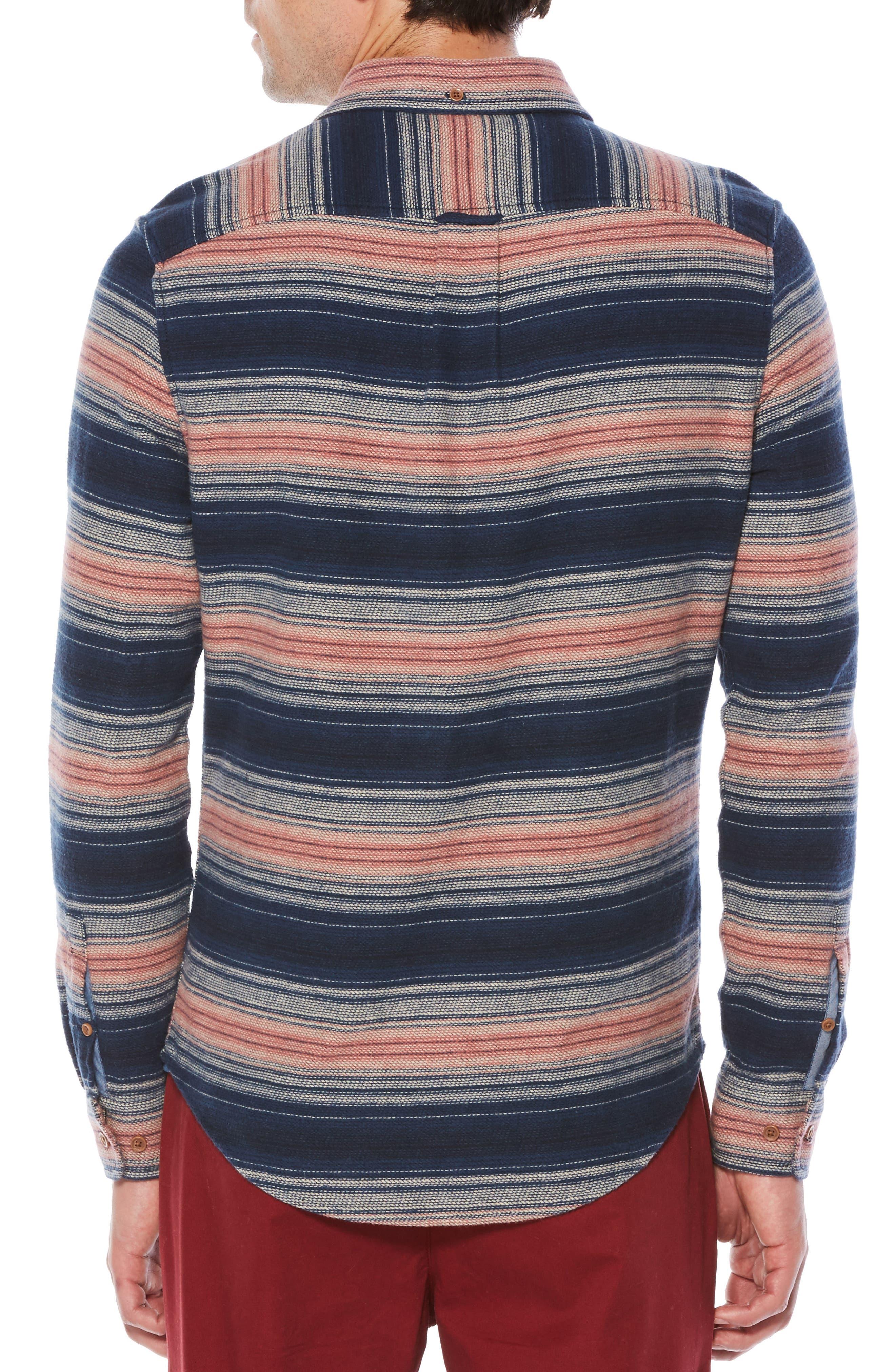 Alternate Image 2  - Original Penguin Brushed Flannel Shirt