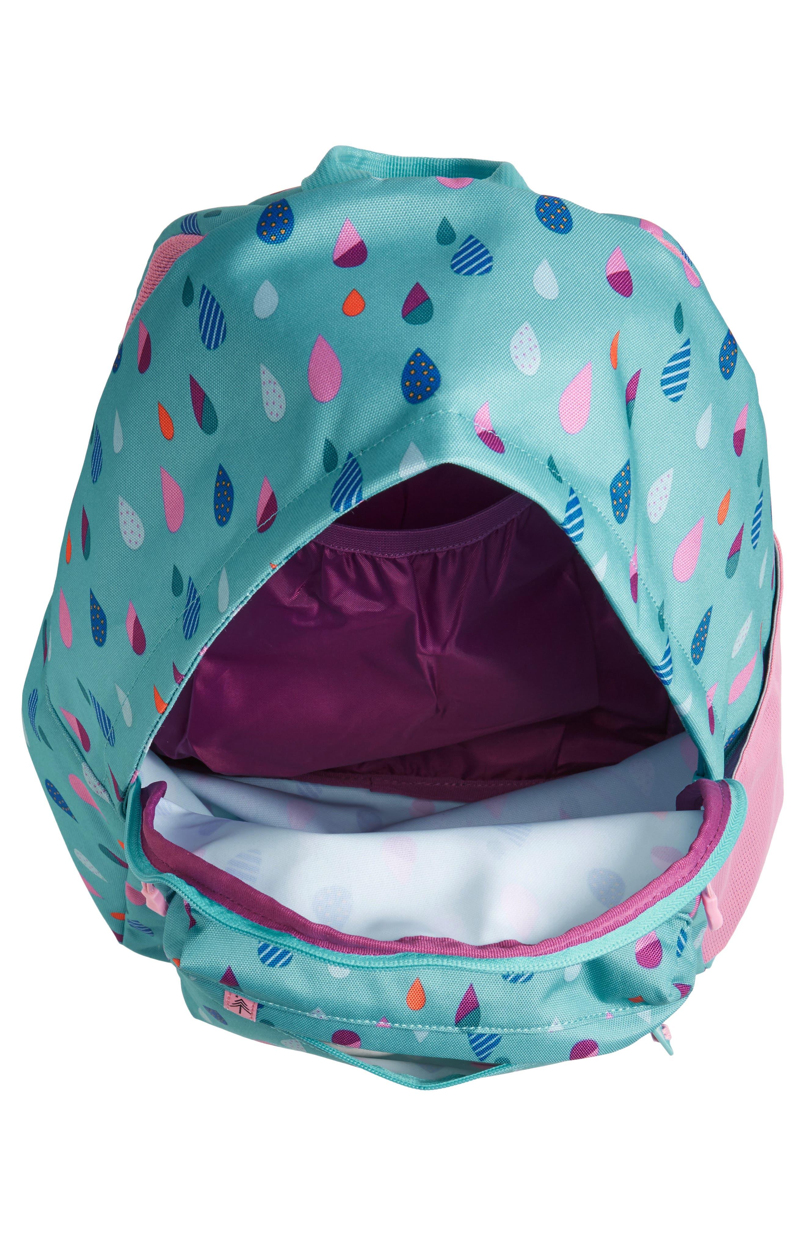 Bayside - Puddles Backpack,                             Alternate thumbnail 4, color,                             Blue