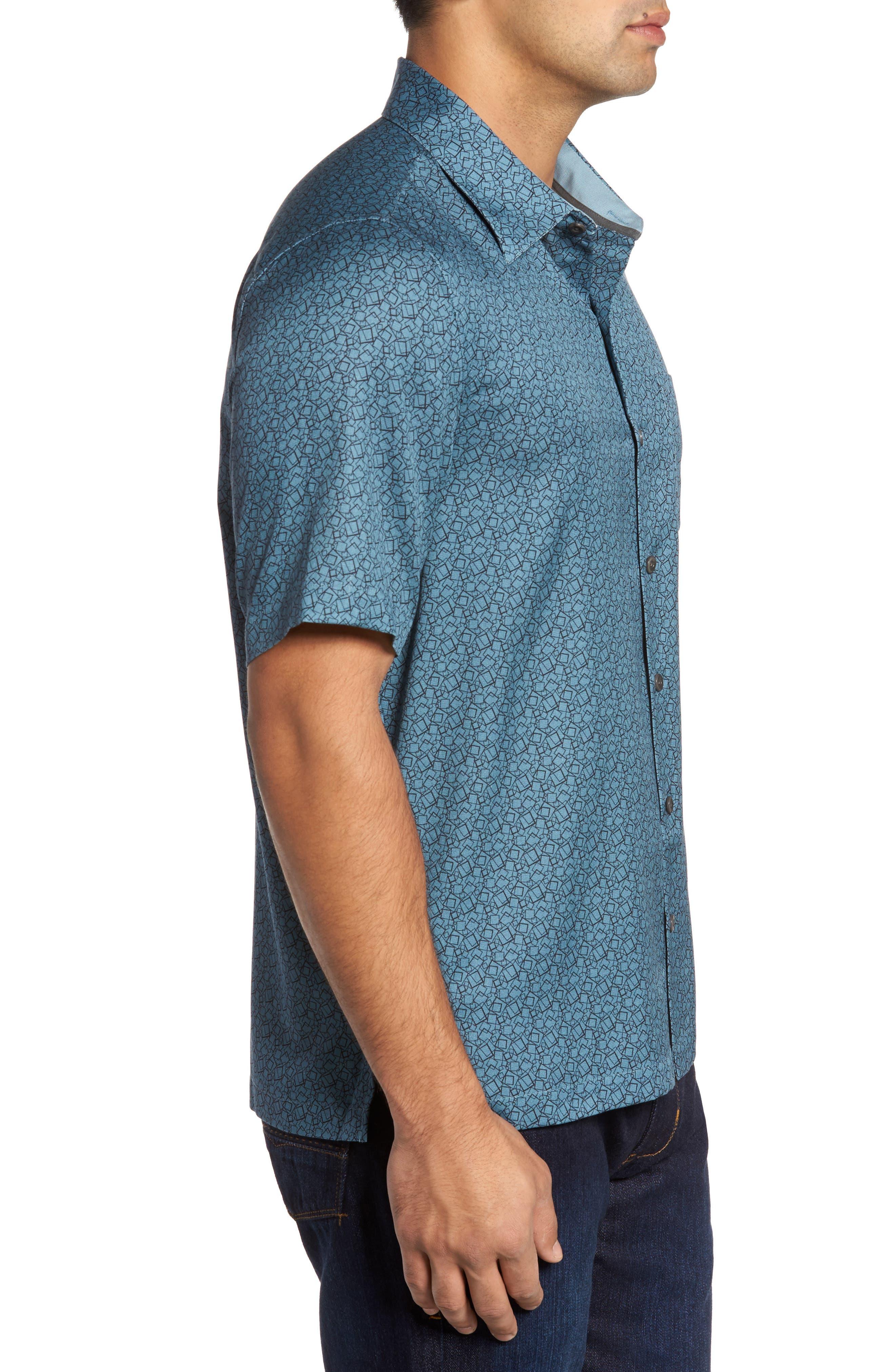 Alternate Image 3  - Nat Nast Blizzard Classic Fit Silk Blend Sport Shirt