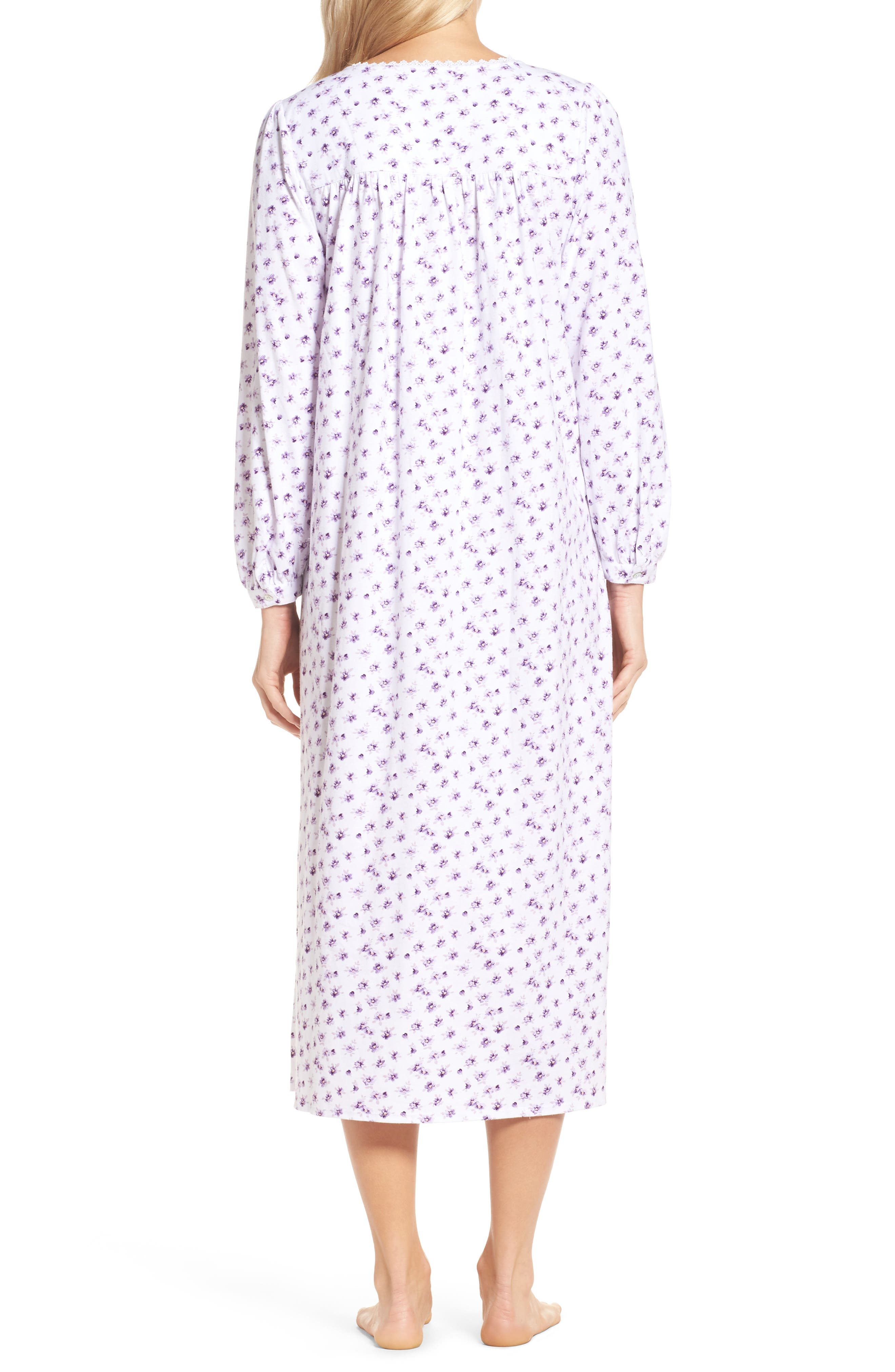 Ballet Nightgown,                             Alternate thumbnail 2, color,                             White/ Lilac