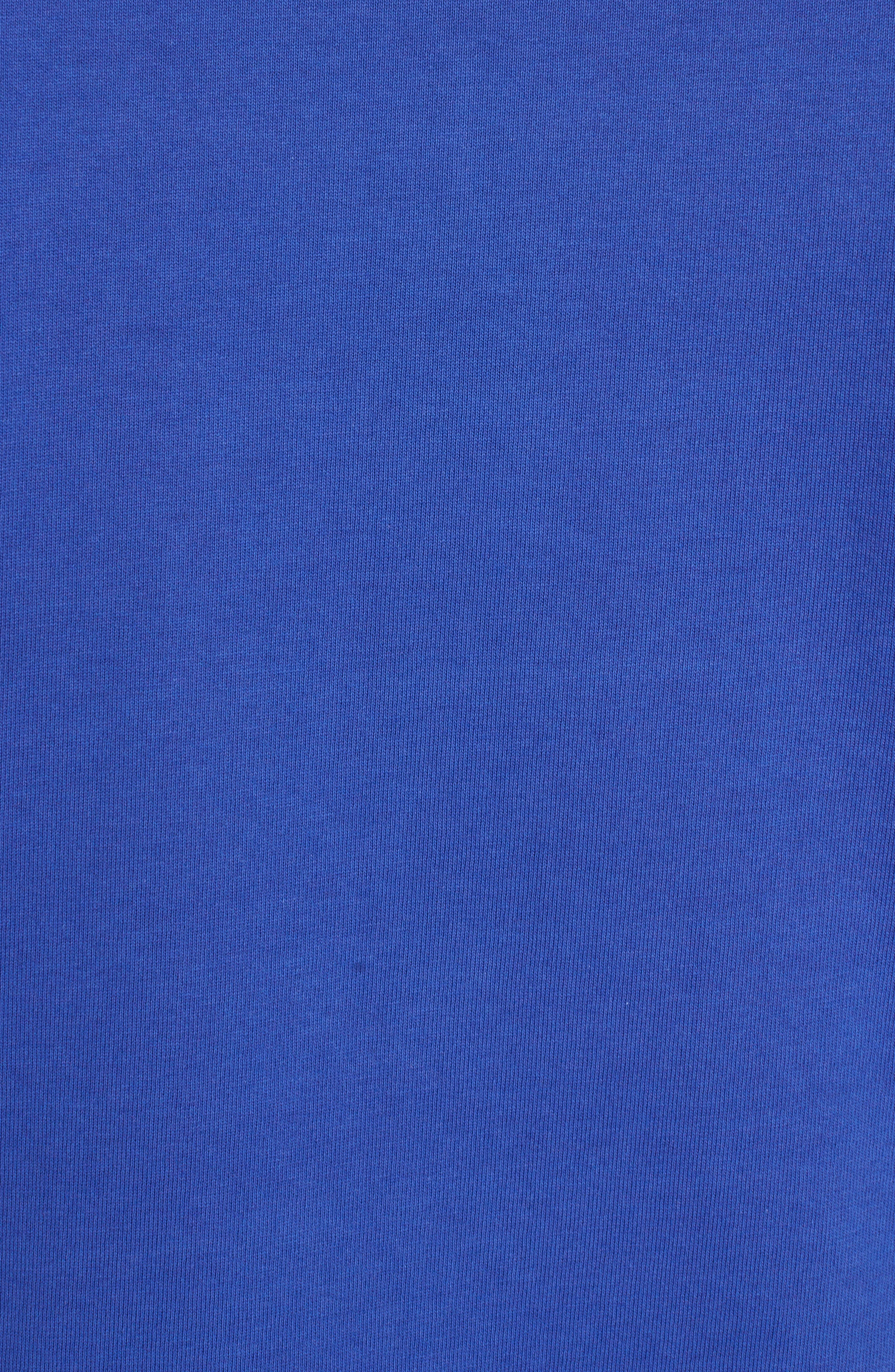Logo Hem Tipped Polo,                             Alternate thumbnail 5, color,                             French Blue