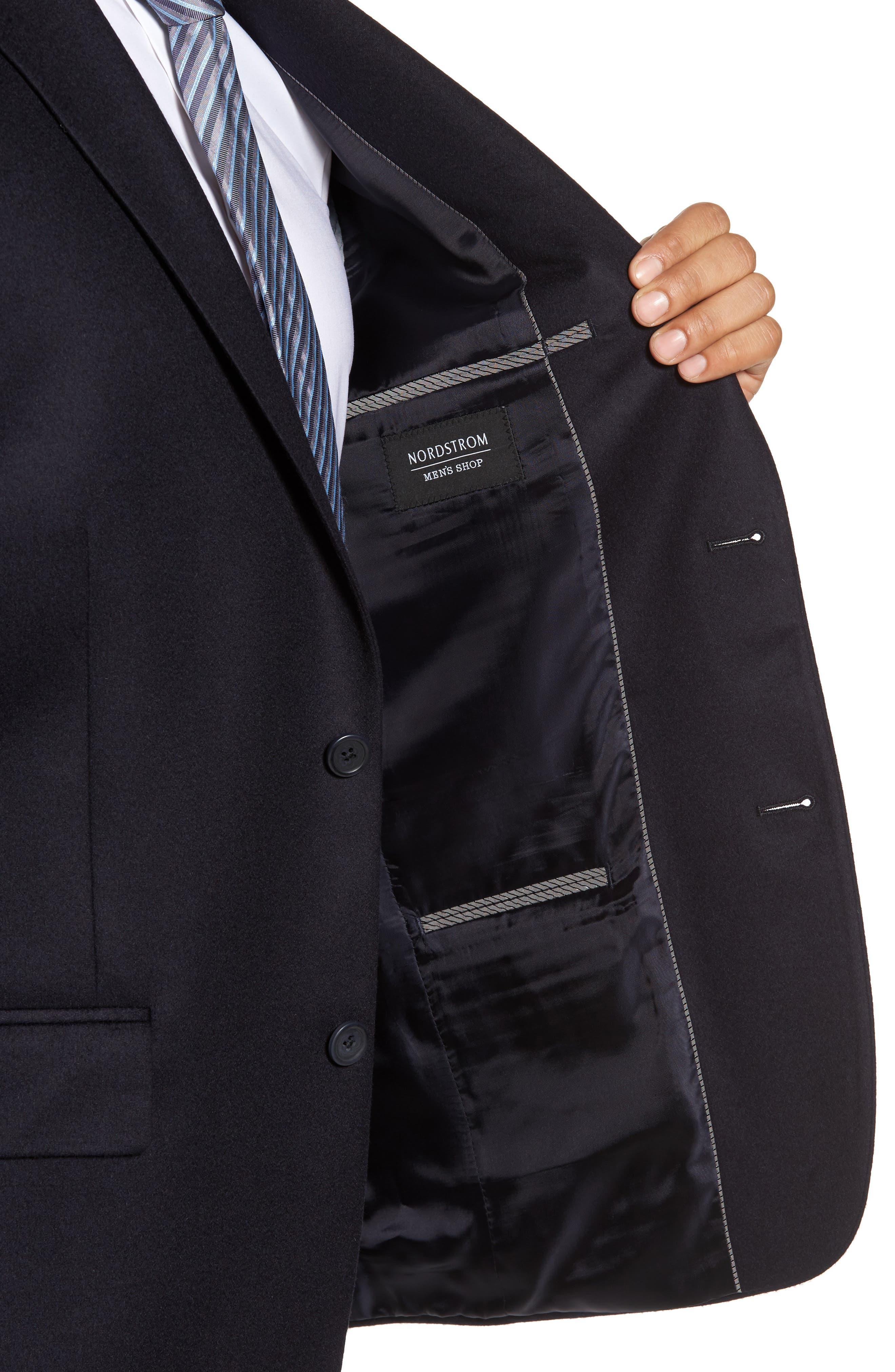 Alternate Image 4  - Nordstrom Men's Shop Classic Fit Cashmere Blazer