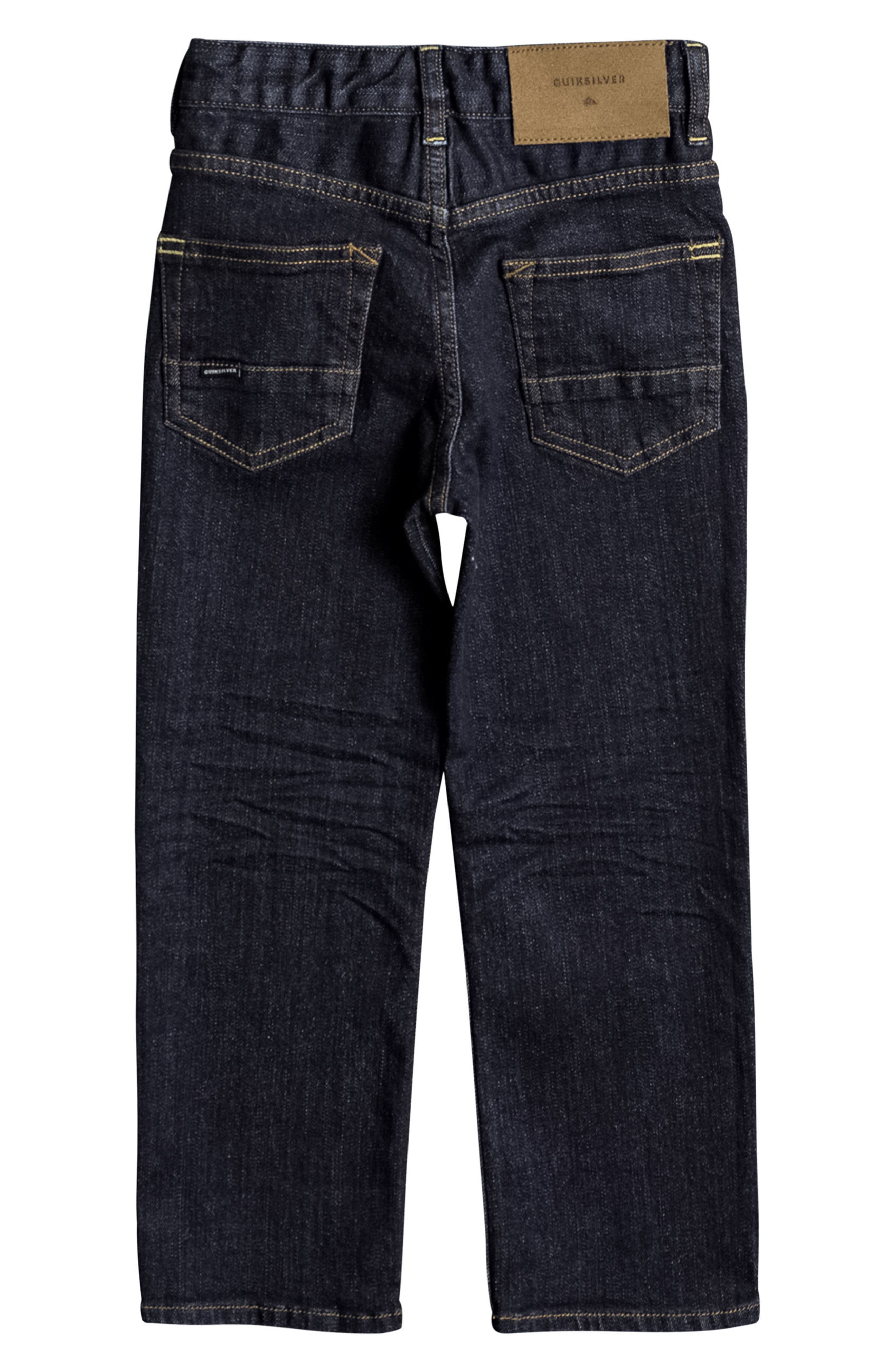 Alternate Image 2  - Quiksilver Sequel 5-Pocket Jeans (Big Boys)