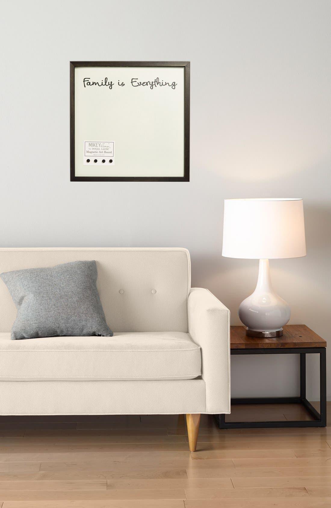 Alternate Image 2  - Petal Lane 'Family Is Everything' Medium Magnet Board
