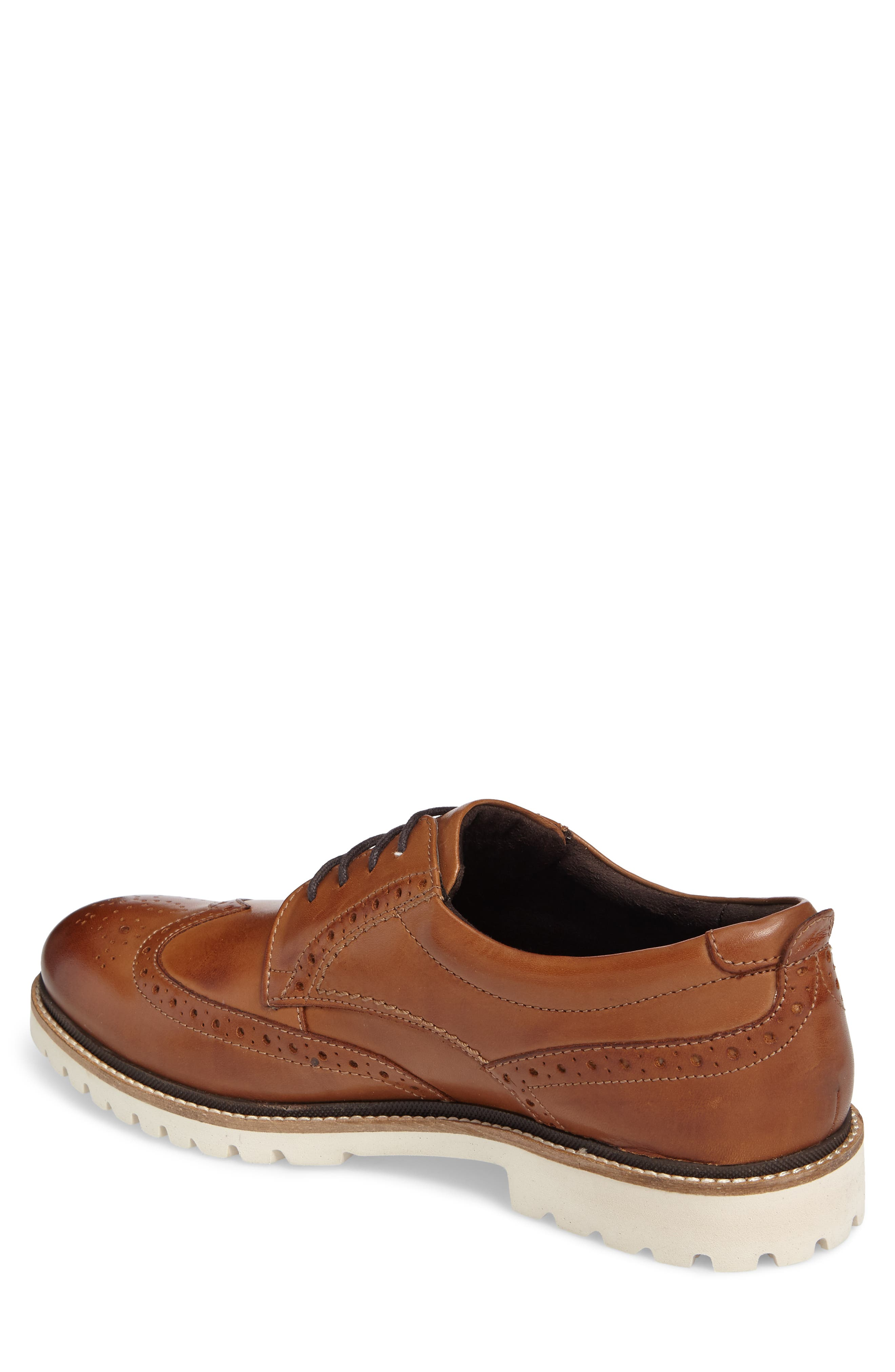 Marshall Wingtip,                             Alternate thumbnail 2, color,                             Cognac Leather