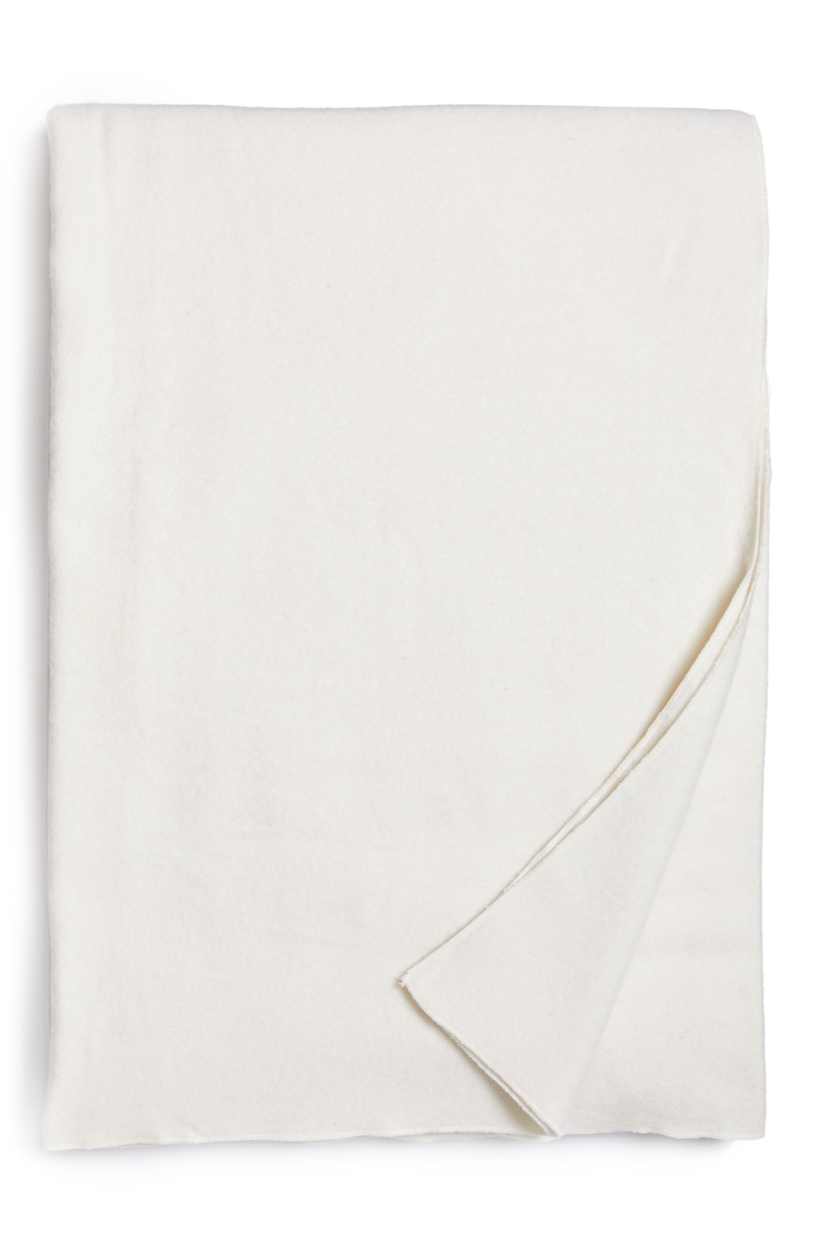 Alternate Image 1 Selected - Calvin Klein Home Series 1 Wool Blanket
