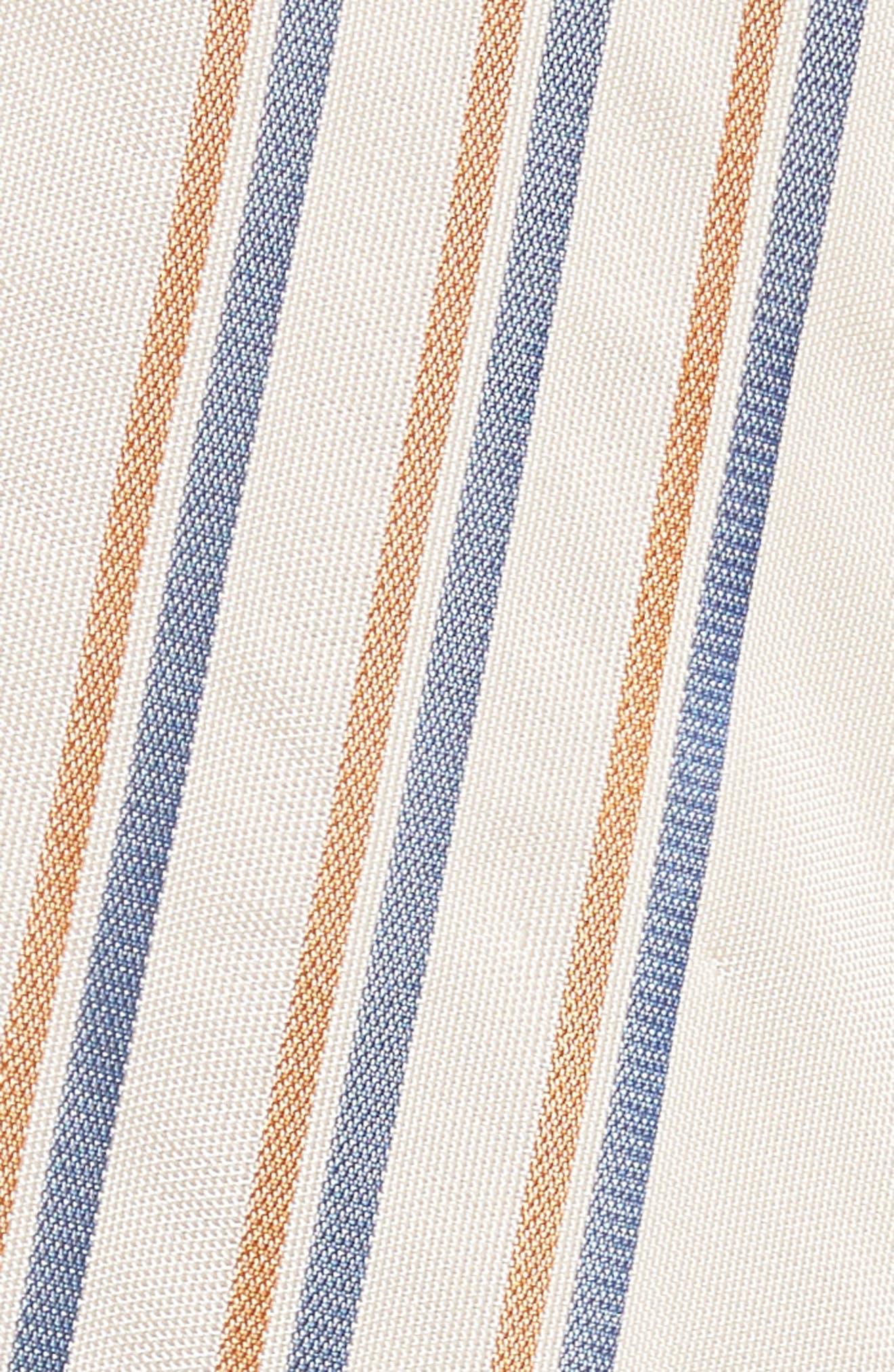 Alternate Image 5  - Zero + Maria Cornejo Stripe Midi Dress