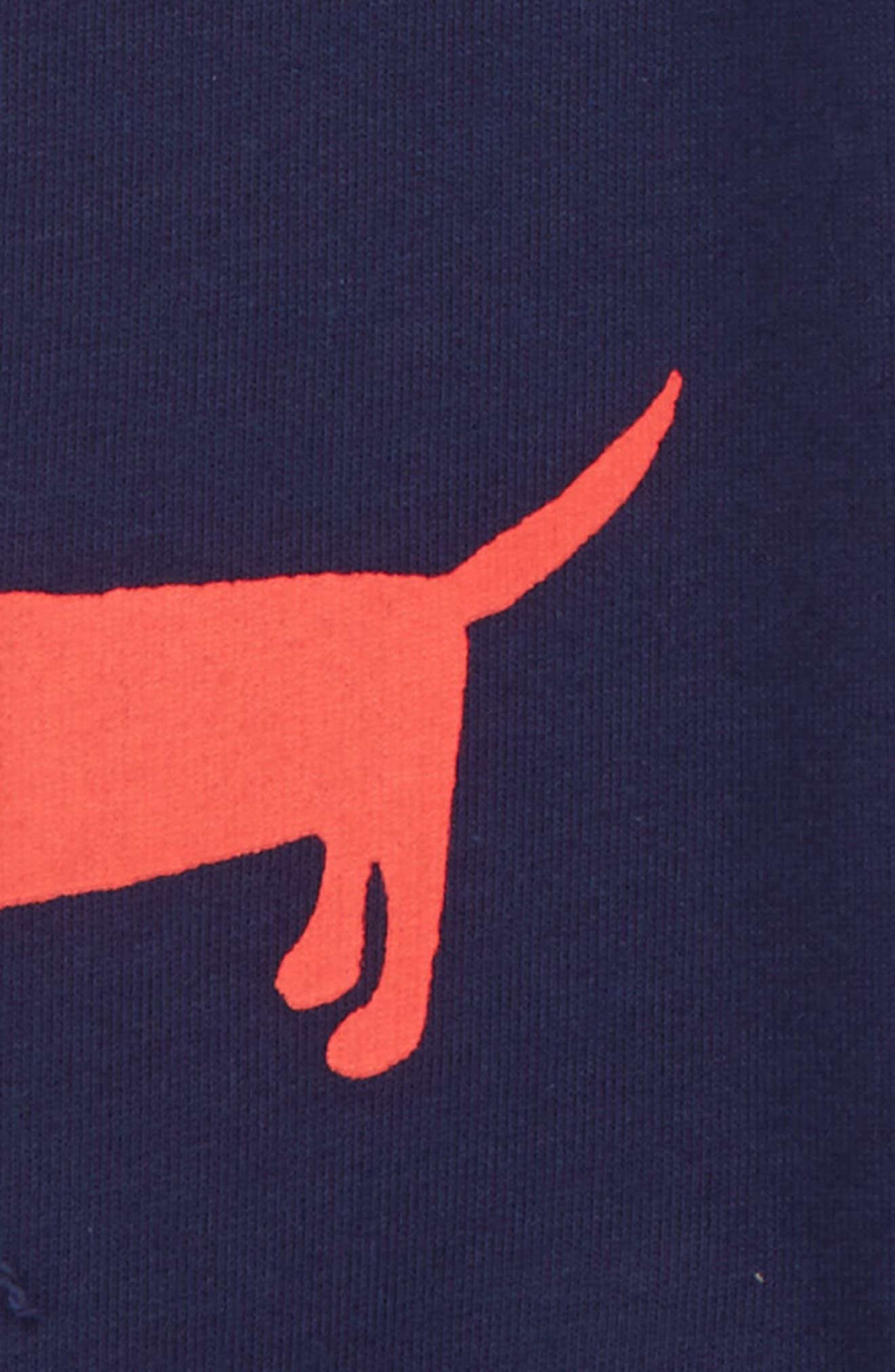 Dog Sweatpants,                             Alternate thumbnail 3, color,                             Navy