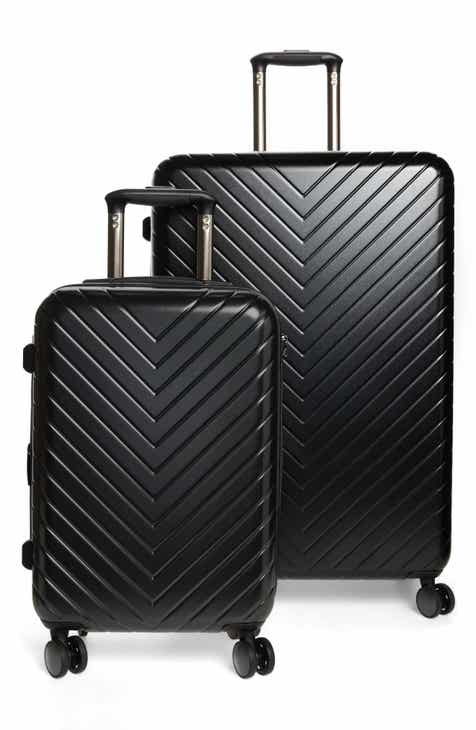 731d12a8 Nordstrom Chevron 29-Inch & 18-Inch Spinner Luggage Set ($368 Value)