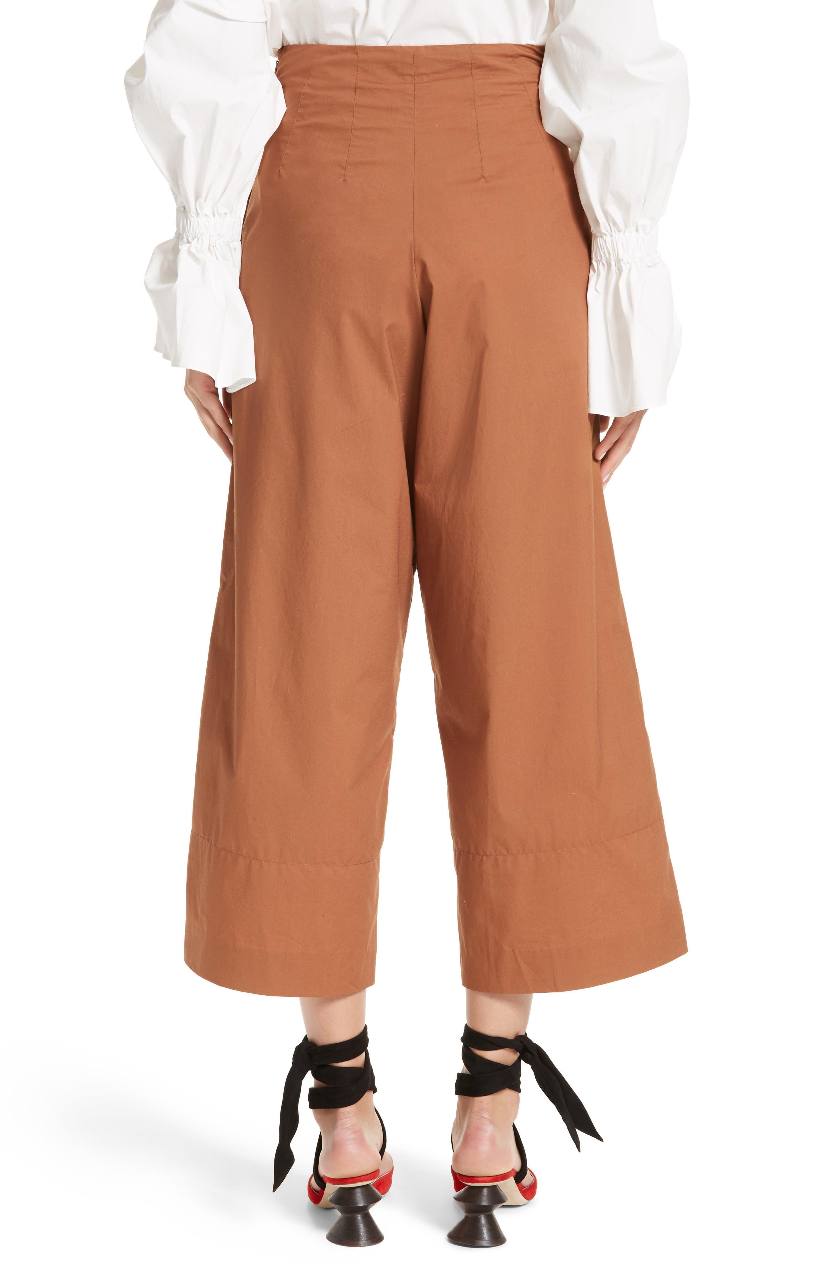 Alternate Image 2  - Rejina Pyo Wide Leg Belted Paperbag Pants