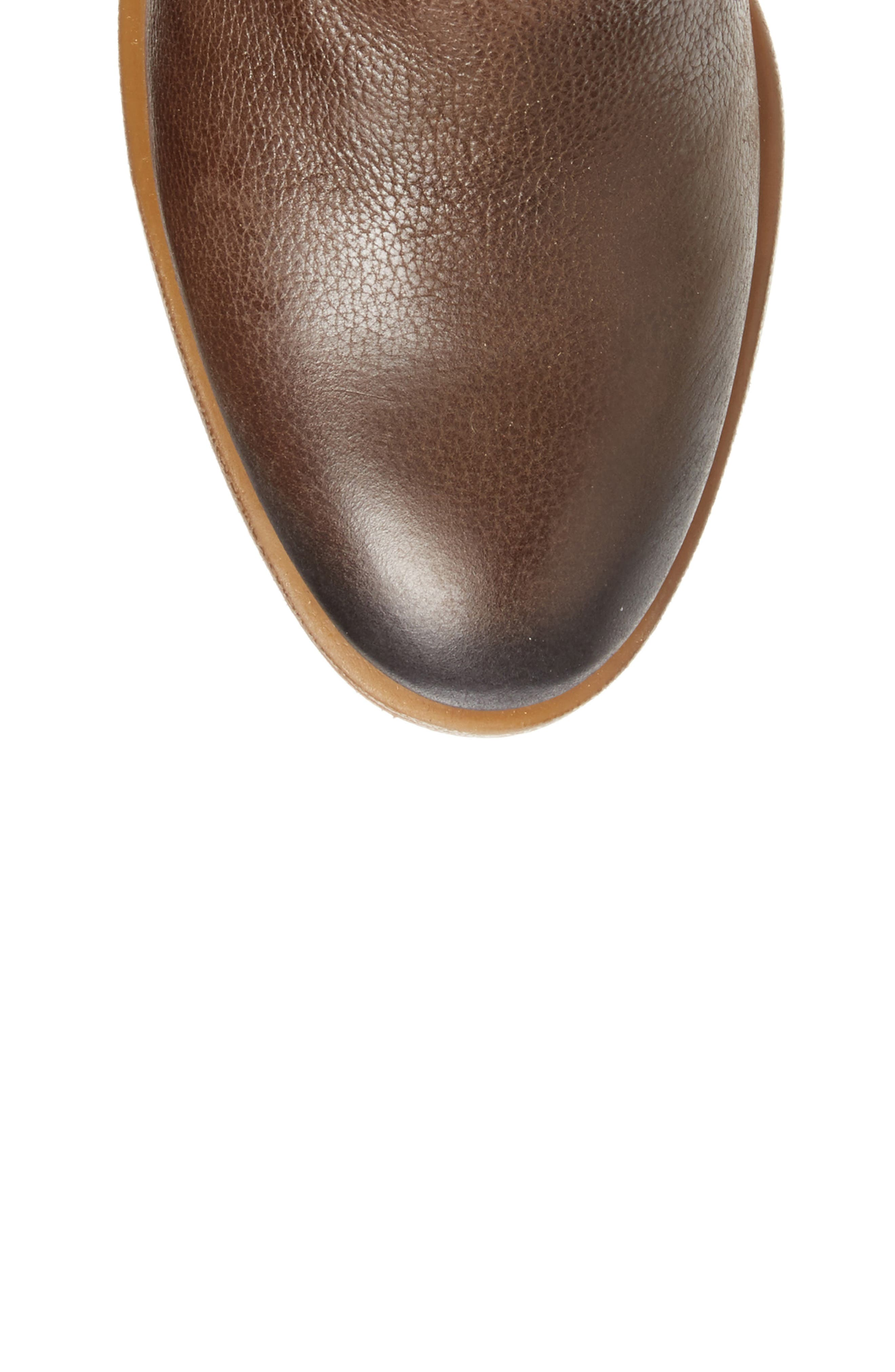 Baqueira Water Resistant Tall Boot,                             Alternate thumbnail 5, color,                             Seaweed Leather