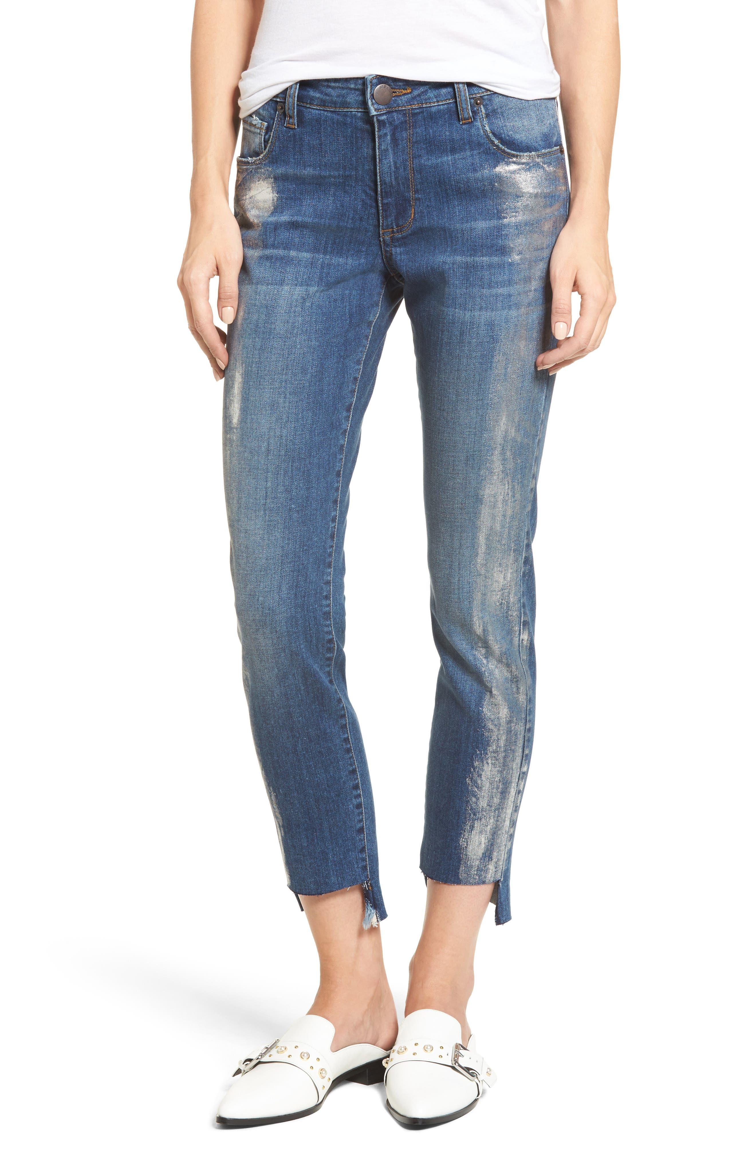 STS Blue Taylor Foil Step Hem Tomboy Jeans (Amalfi)