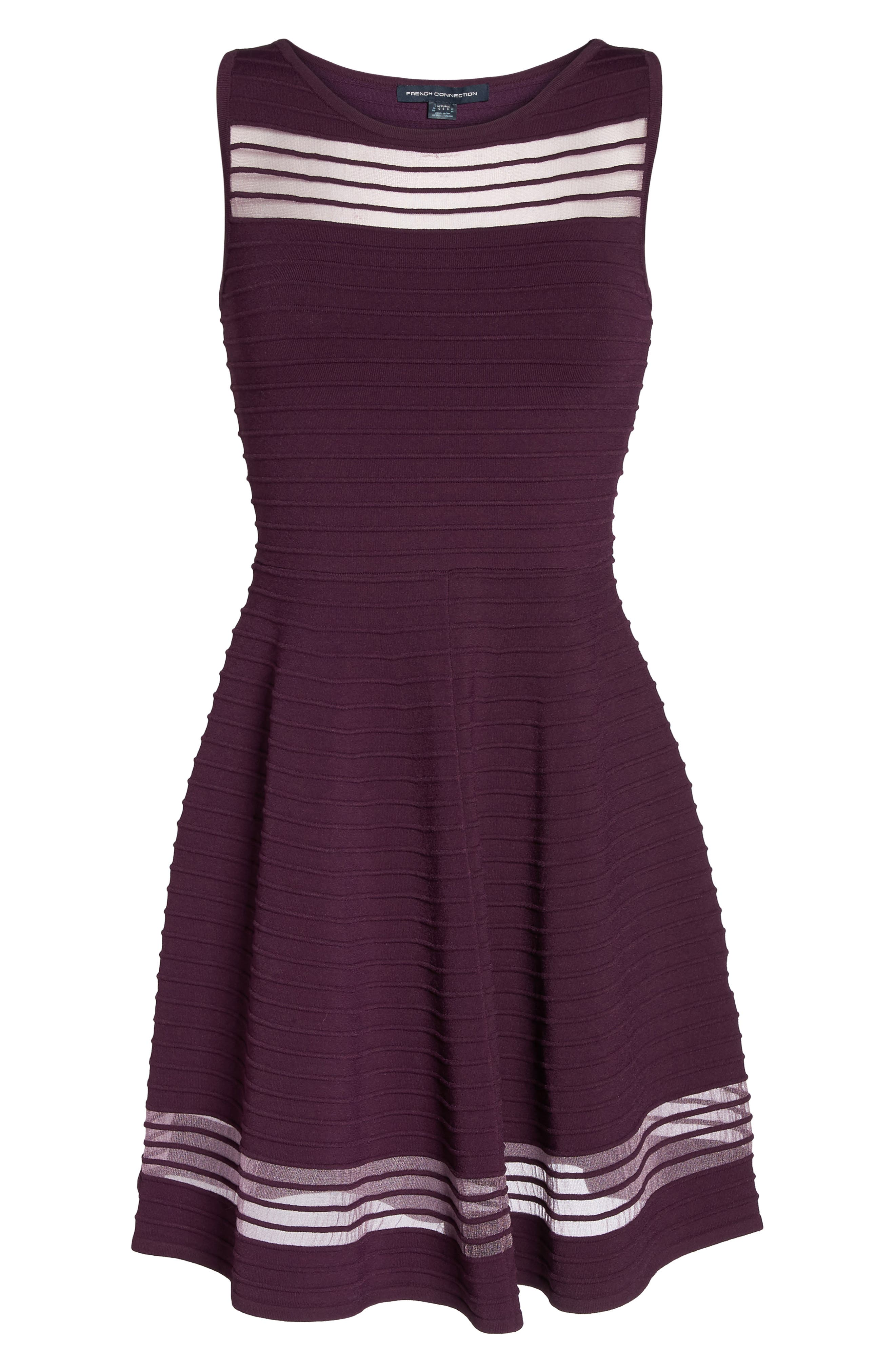 Alternate Image 6  - French Connection Tobey Fit & Flare Dress
