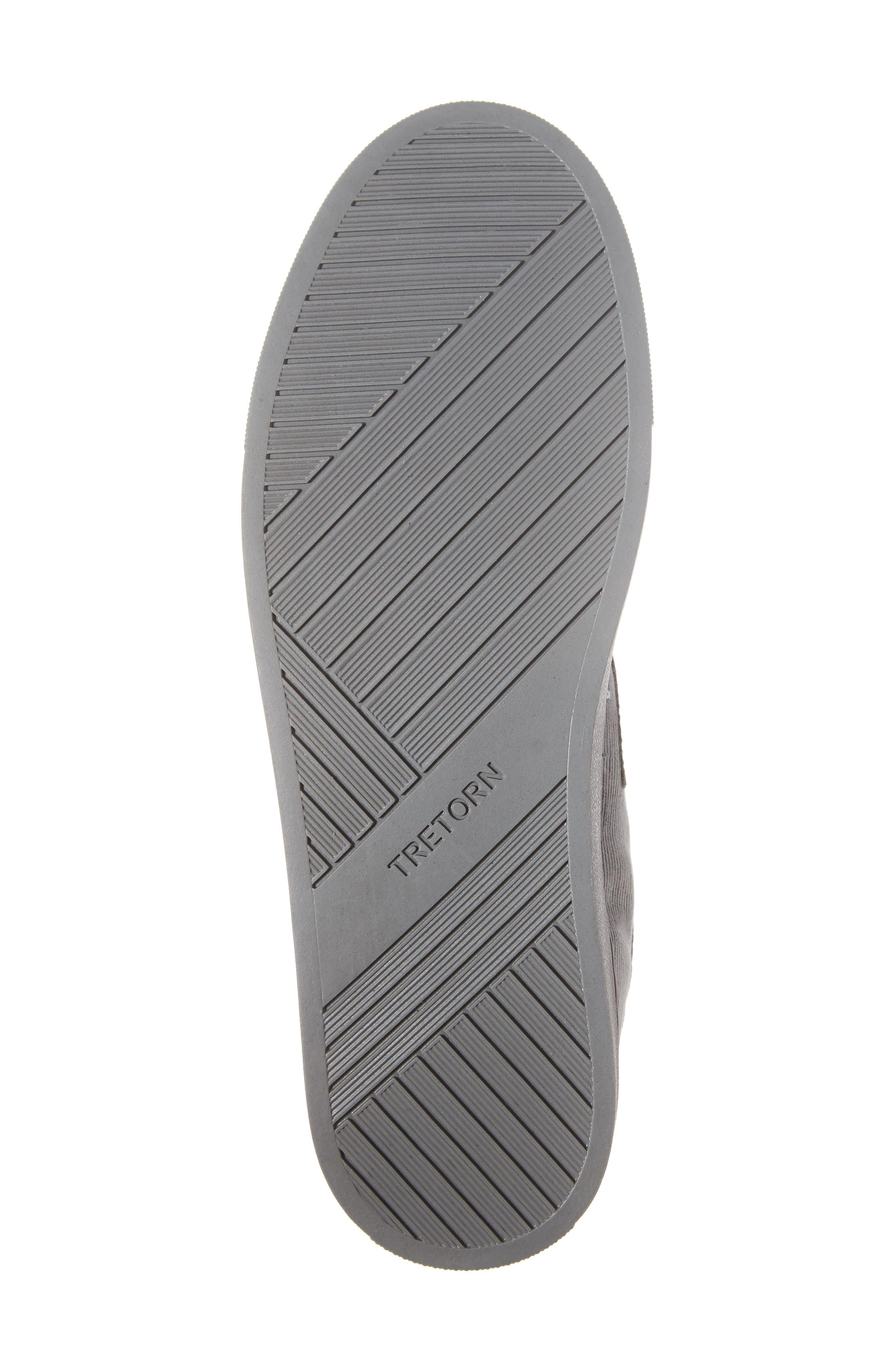 Jack High Top Sneaker,                             Alternate thumbnail 6, color,                             Grey/ Grey