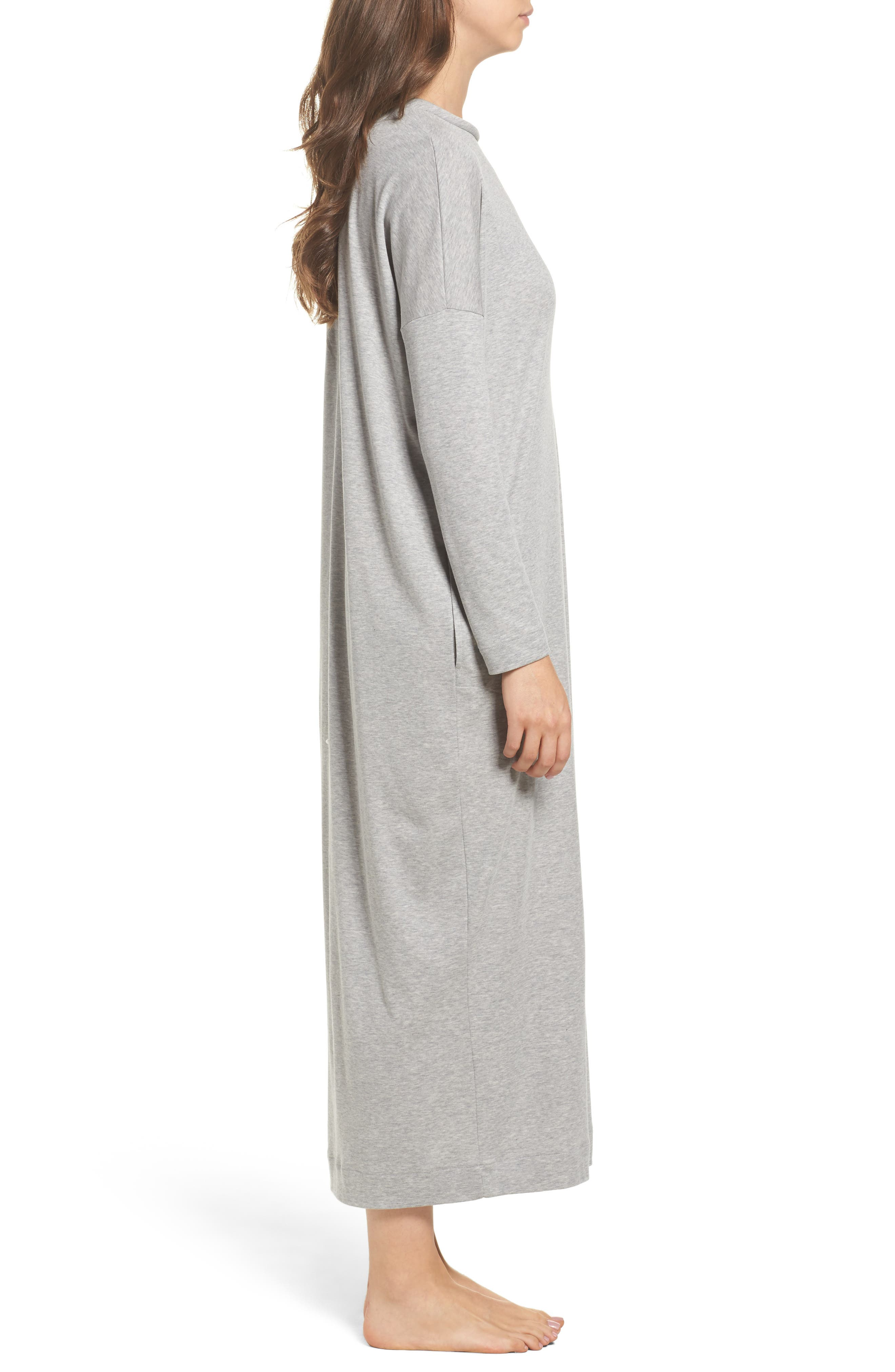Alternate Image 3  - Hanro Enie Cotton Nightgown