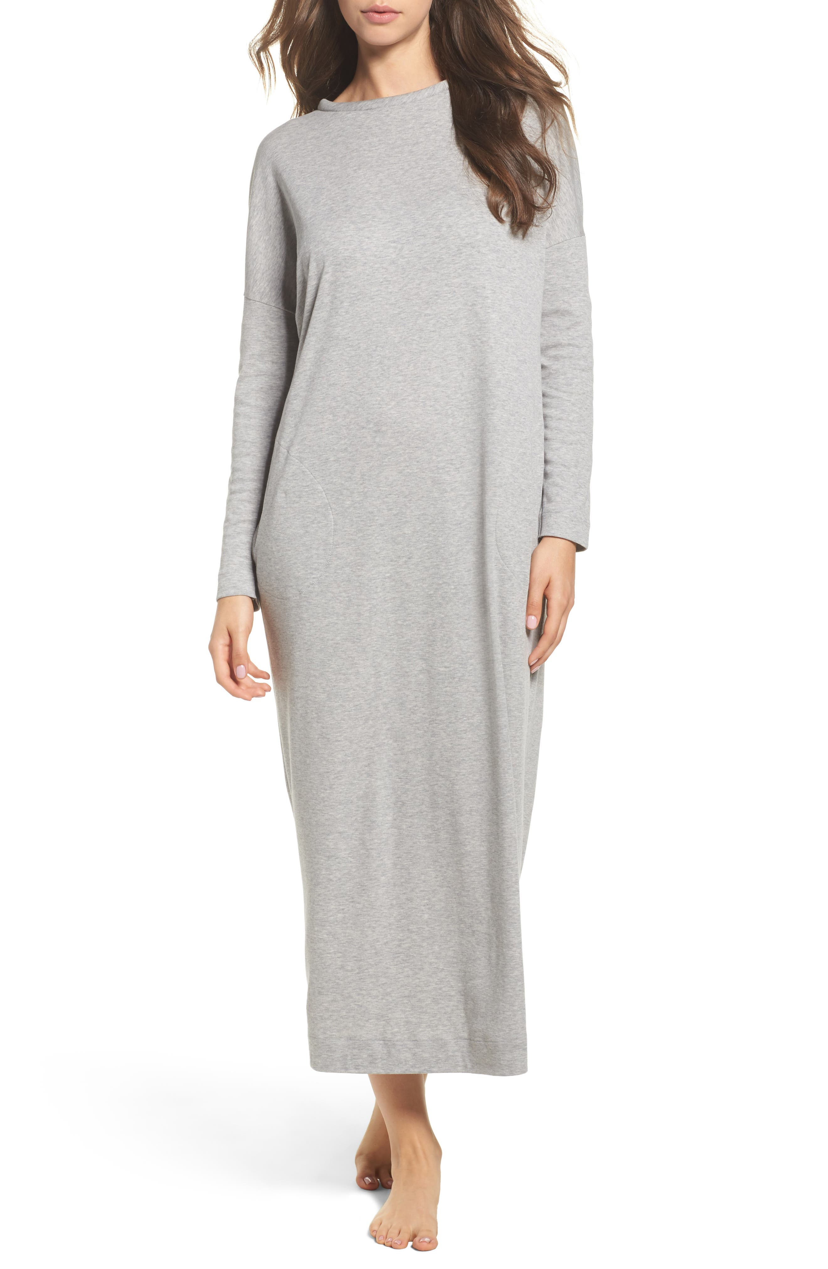 Alternate Image 1 Selected - Hanro Enie Cotton Nightgown