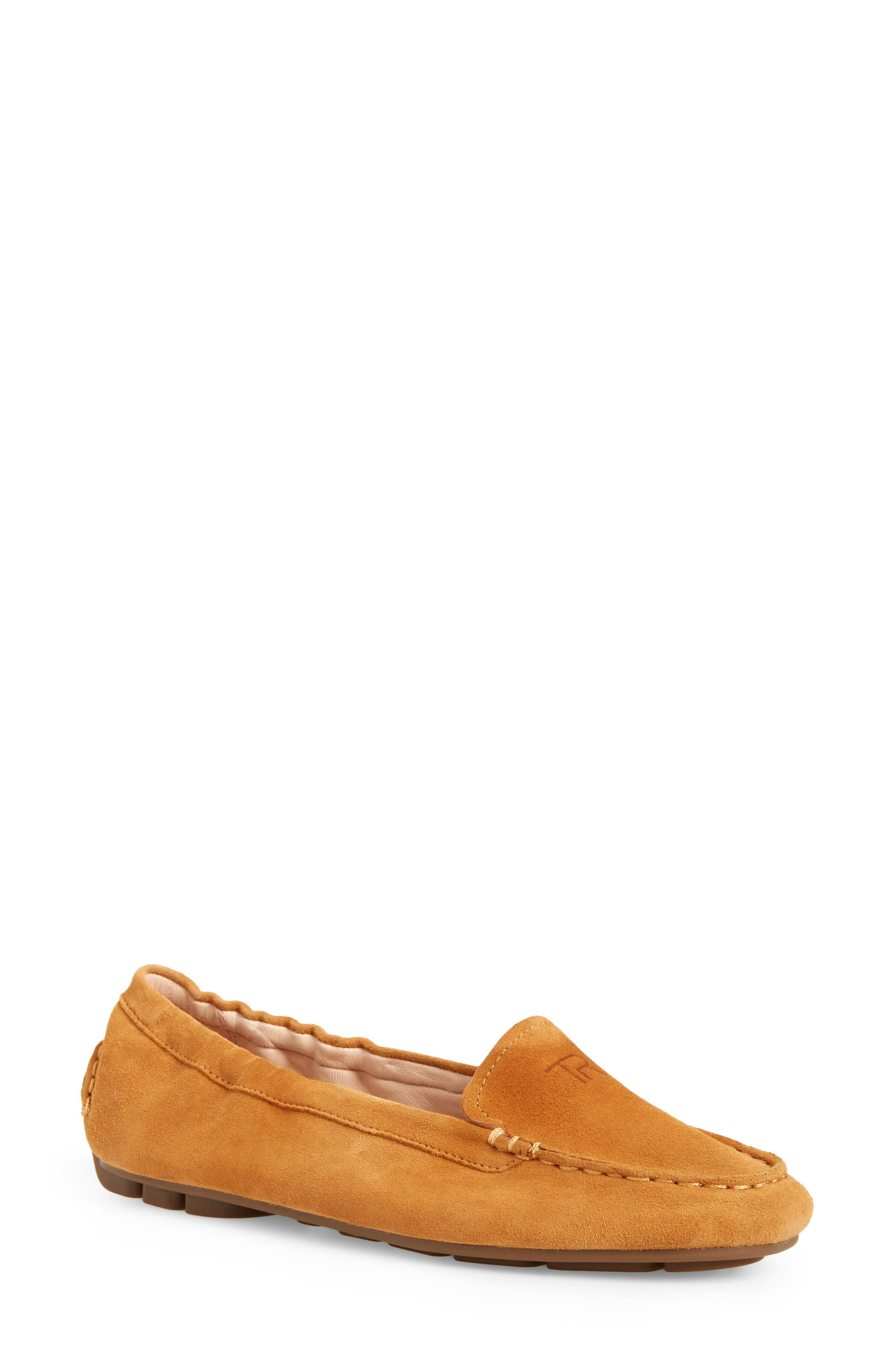 Kristine Loafer,                             Main thumbnail 1, color,                             Cuoio Suede