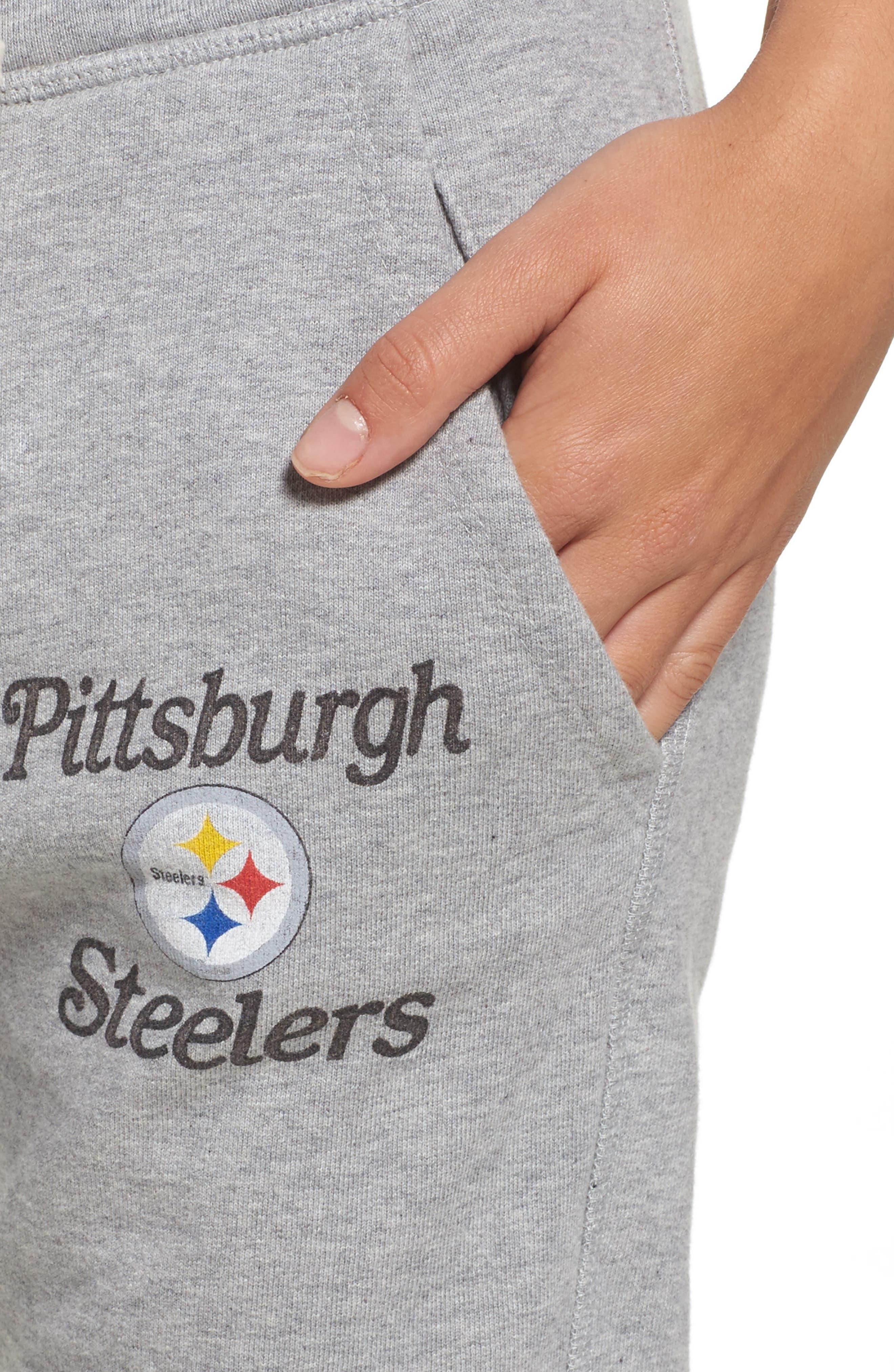 Alternate Image 4  - Junk Food NFL Pittsburgh Steelers Sunday Sweatpants