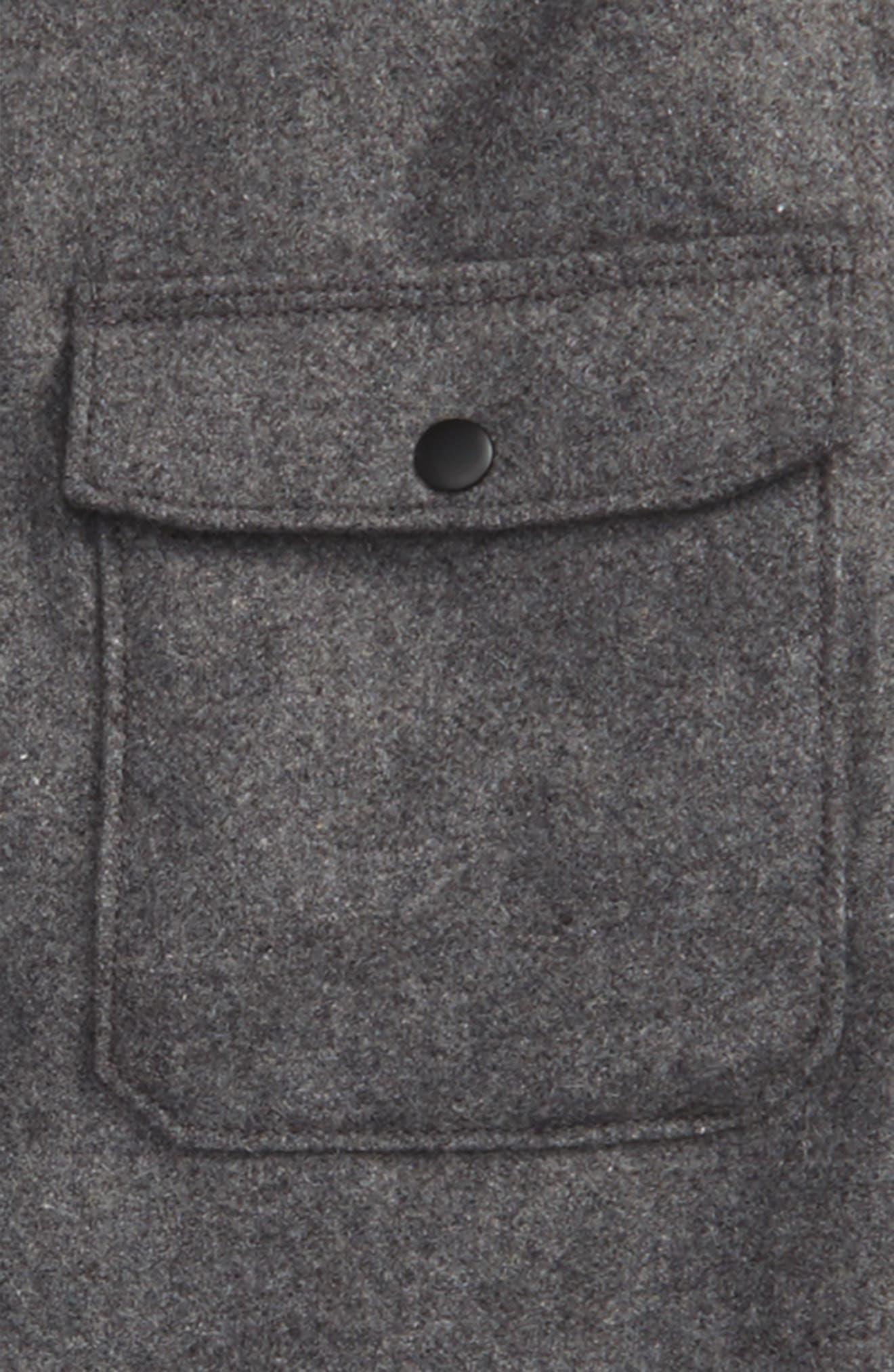 Alternate Image 2  - Z.A.K. Brand Flannel Shirt Jacket (Little Boys)