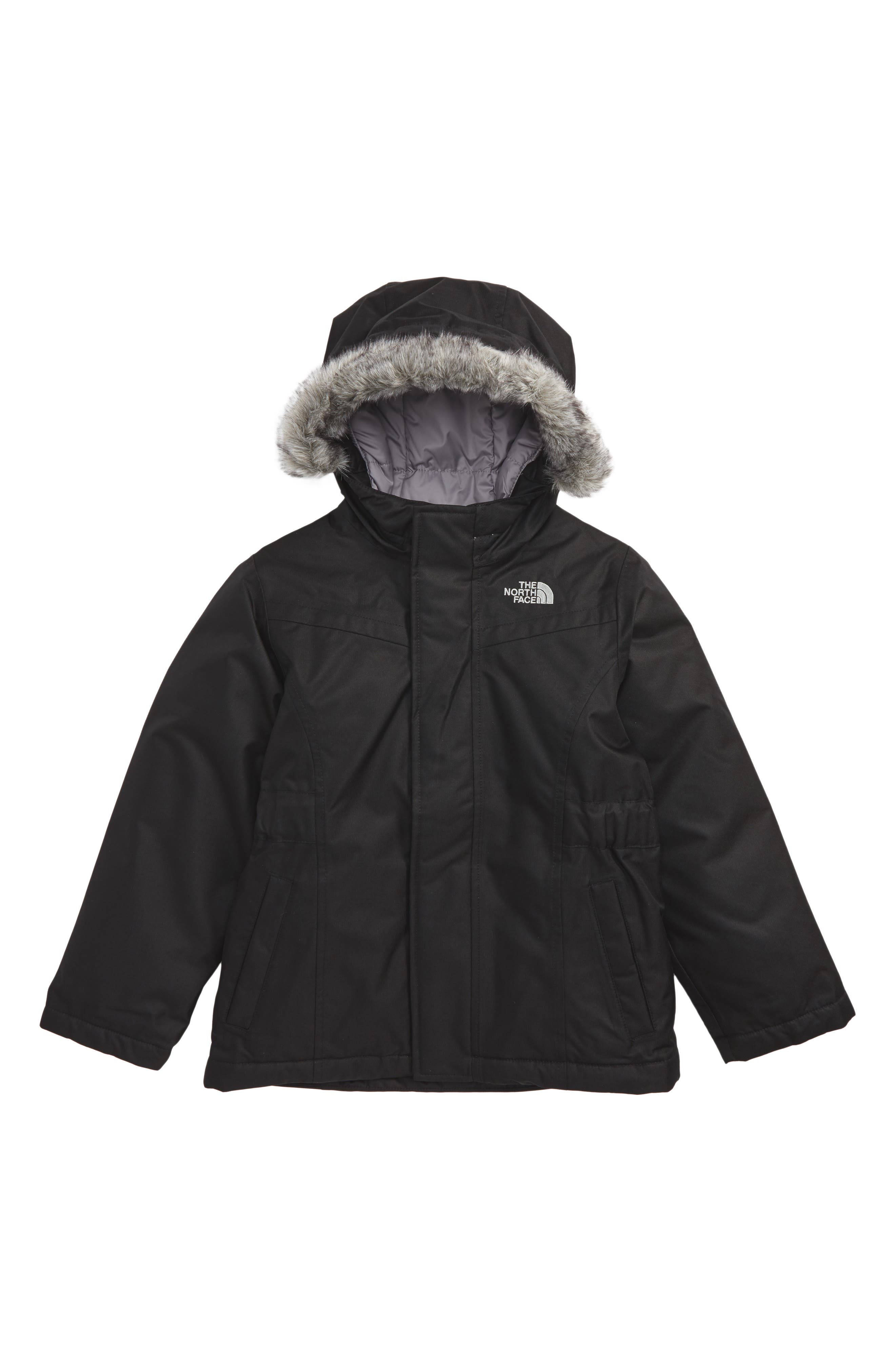 Alternate Image 1 Selected - The North Face Greenland Waterproof 550-Fill Down Jacket (Toddler Girls)