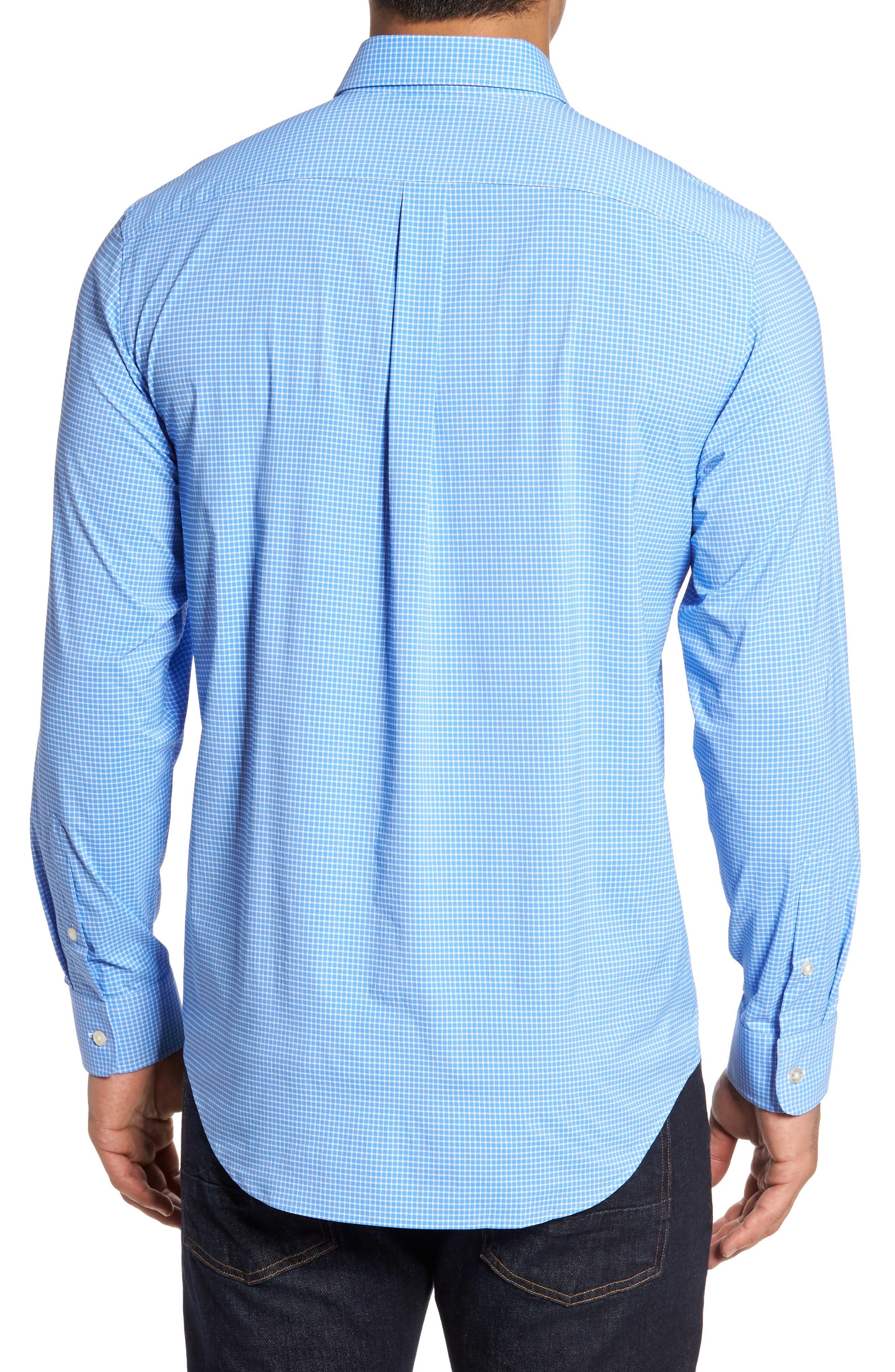 Alternate Image 3  - vineyard vines Anchor Row Classic Fit Check Sport Shirt