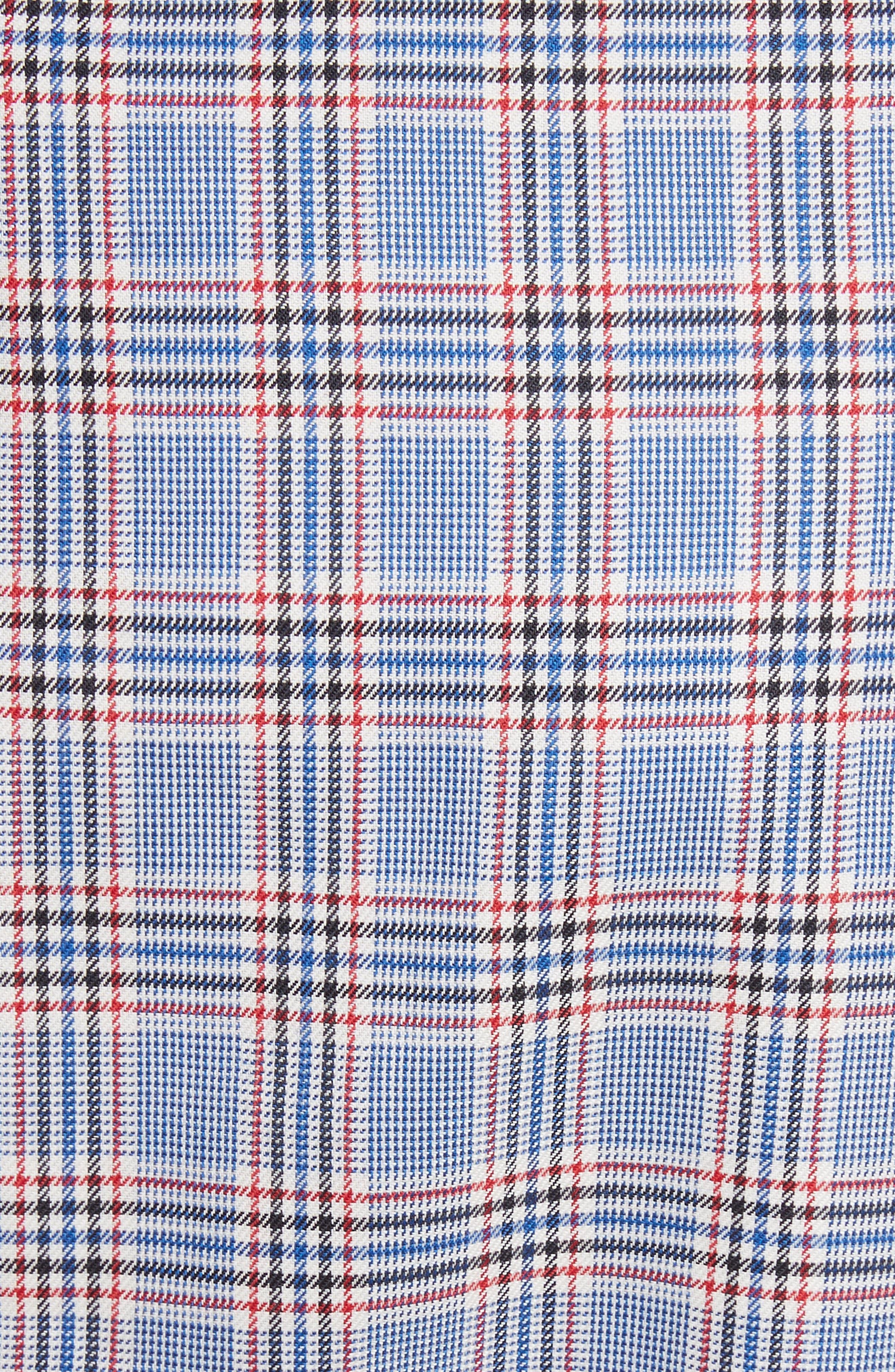 Asymmetrical Ruffle Hem Skirt,                             Alternate thumbnail 5, color,                             Multi