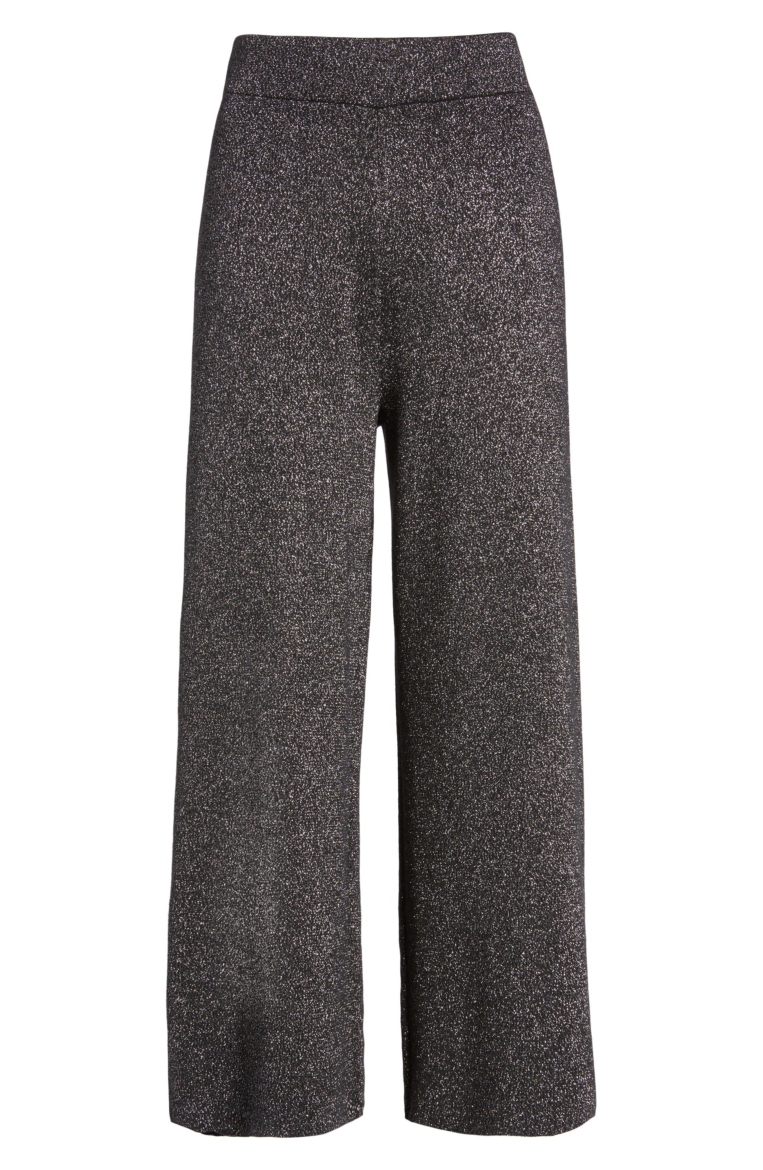 Alternate Image 7  - Leith Metallic Crop Pants