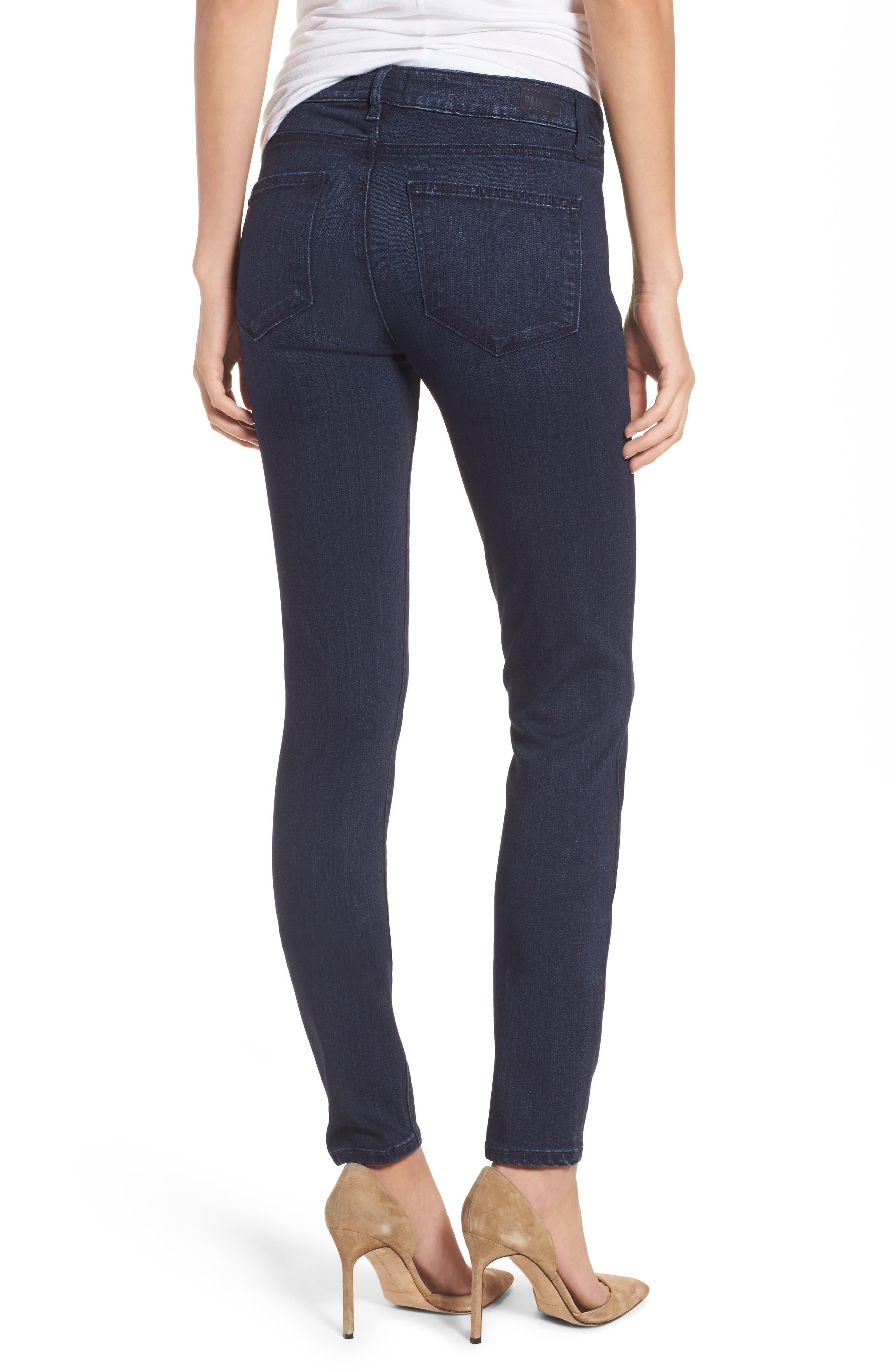 Alternate Image 3  - PAIGE Transcend - Verdugo Ultra Skinny Jeans (Hazen)
