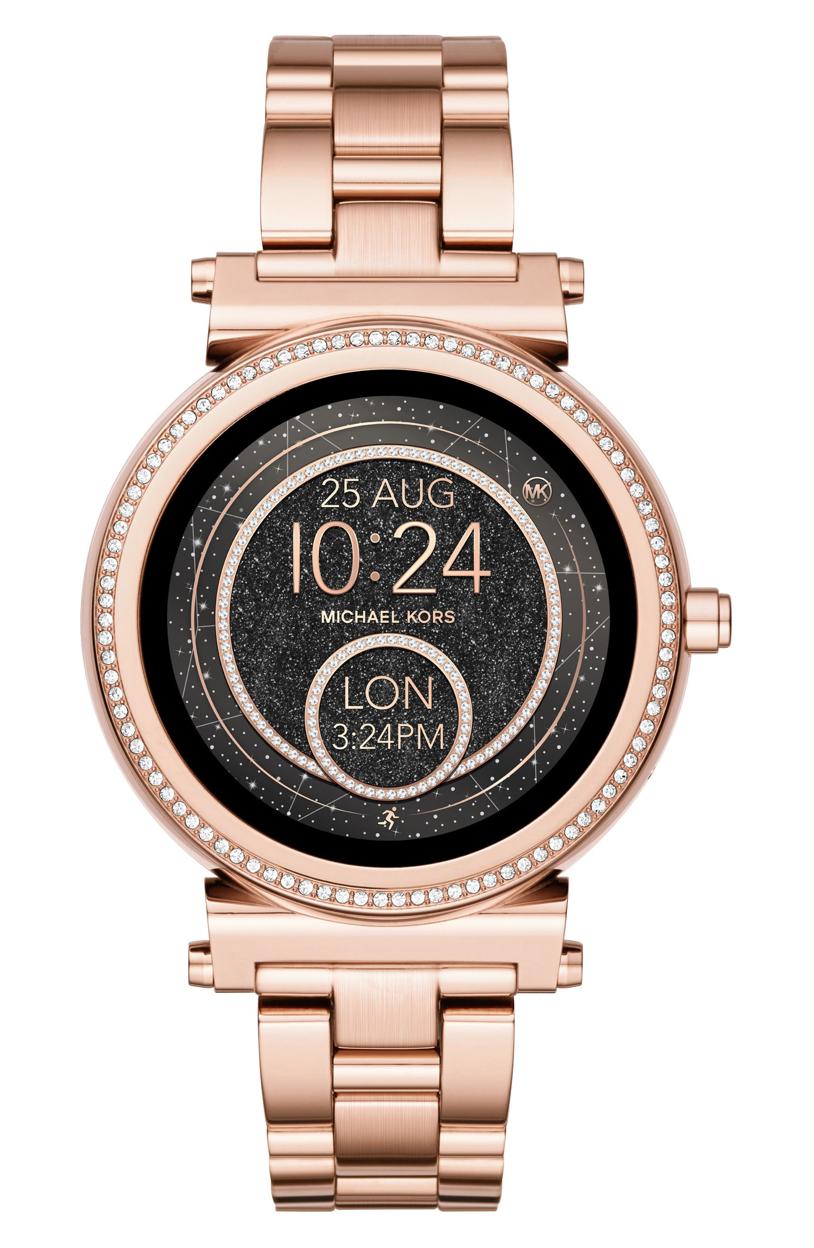 MICHAEL KORS ACCESS Sofie Smart Bracelet Watch, 42Mm in Rose Gold