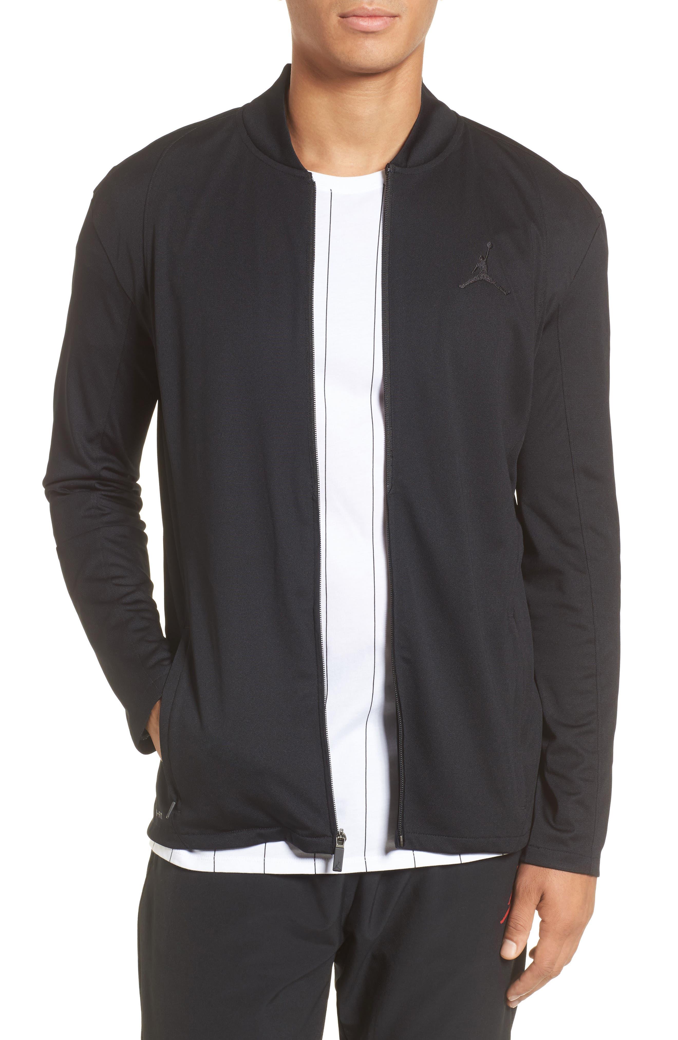 Ultimate Flight Zip Jacket,                         Main,                         color, Black/ Black
