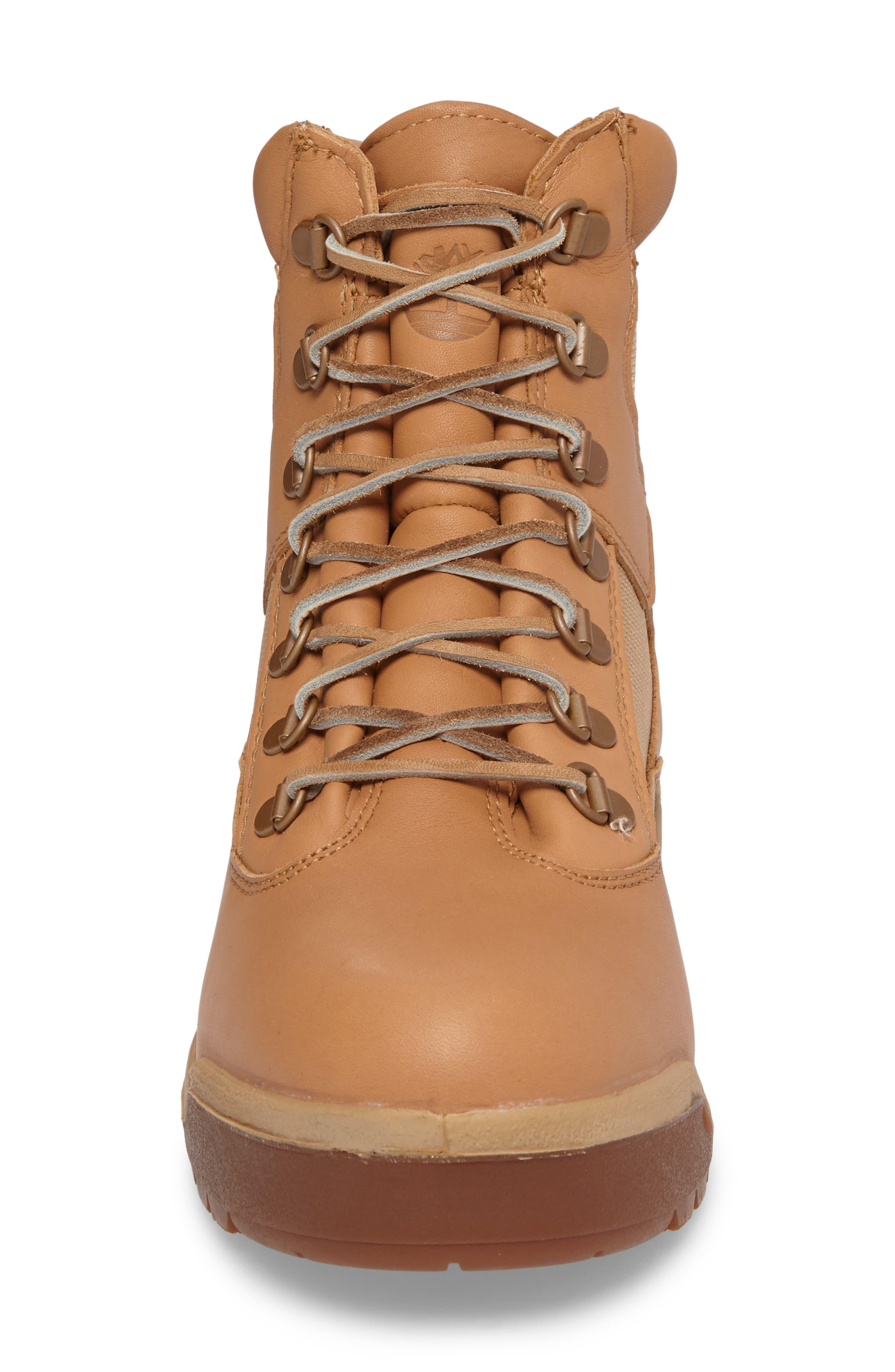 Waterproof Boot,                             Alternate thumbnail 4, color,                             Natural Hoween/ Latigo Leather