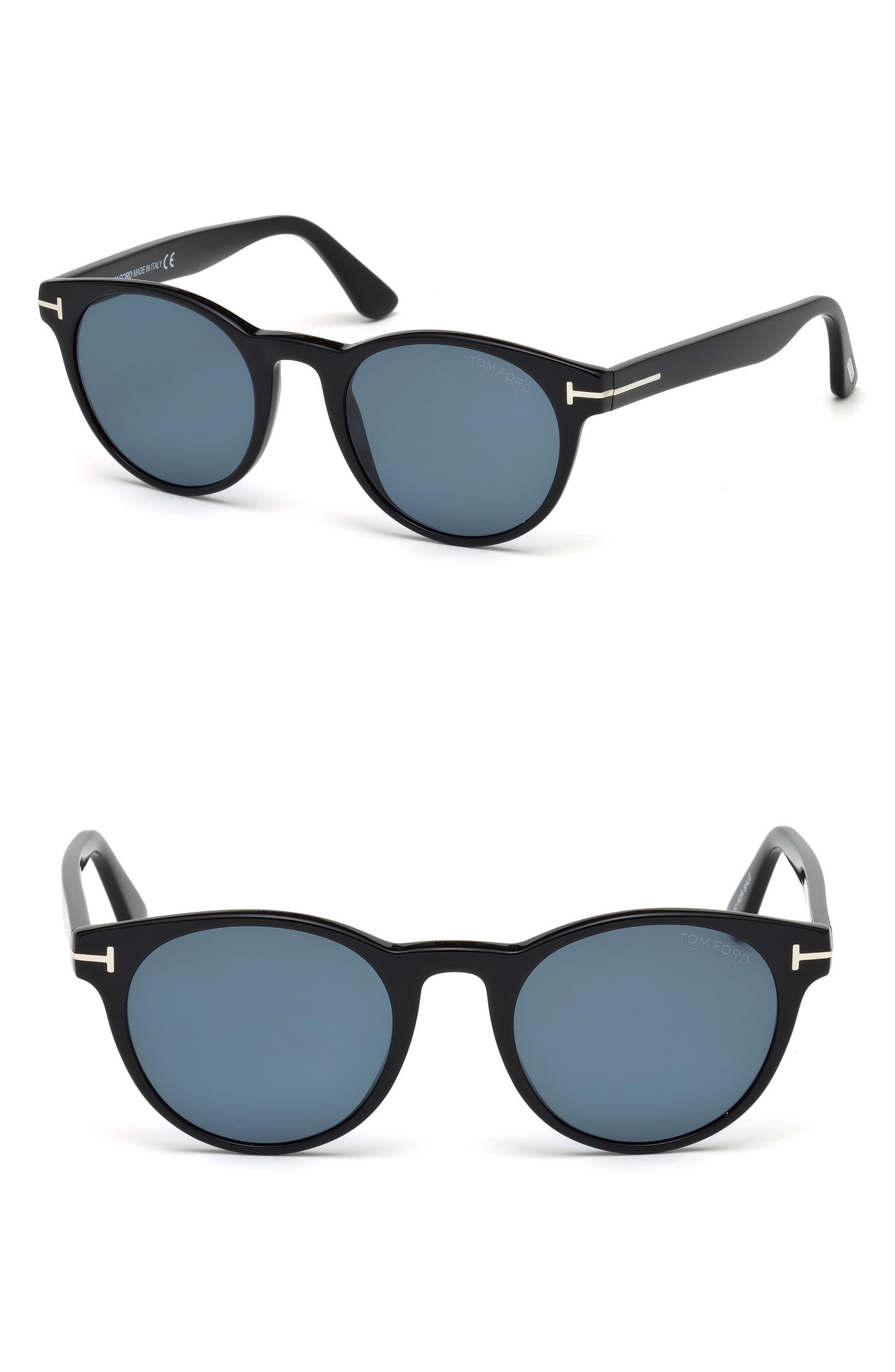 Main Image - Tom Ford Palmer 51mm Polarized Sunglasses