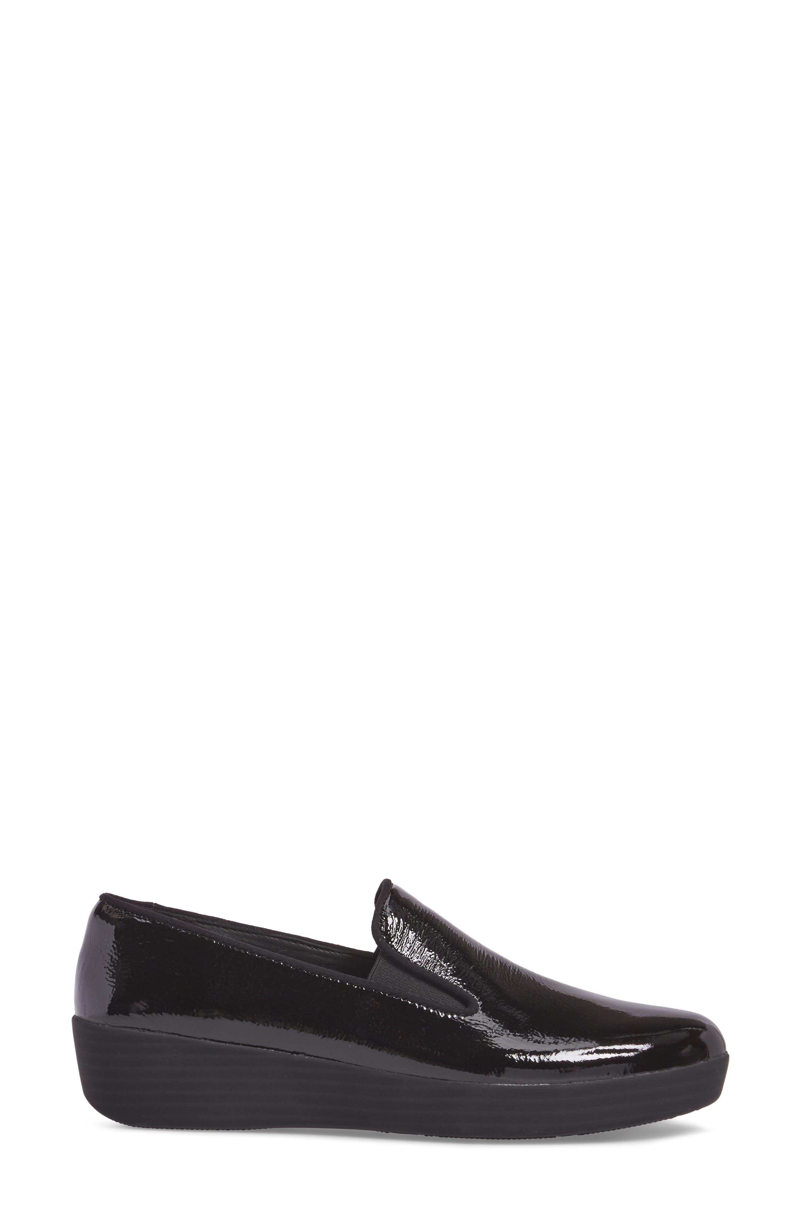 SuperSkate<sup>™</sup> Loafer,                             Alternate thumbnail 3, color,                             Black