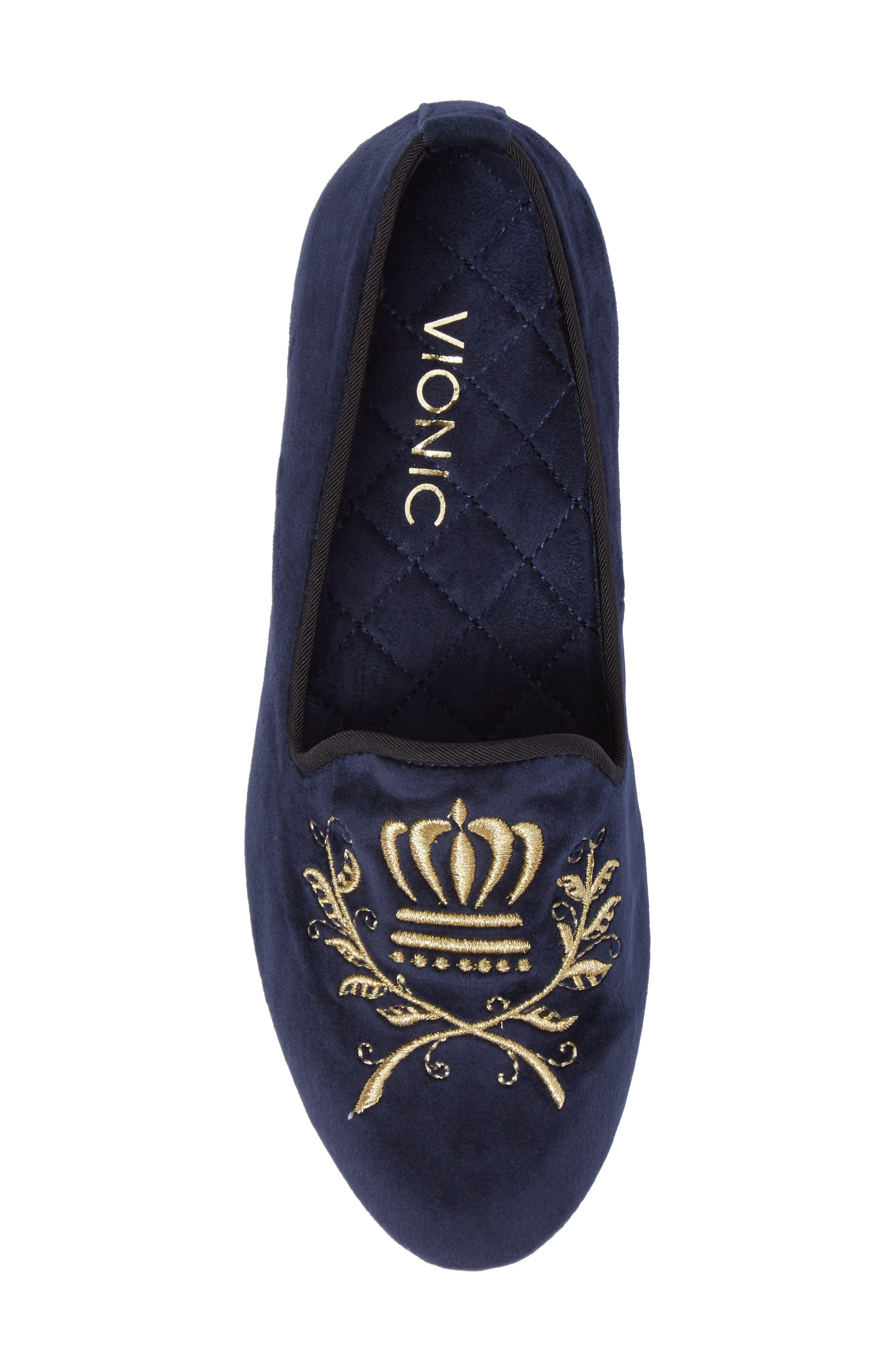 Alternate Image 5  - Vionic Romi Embroidered Flat (Women)