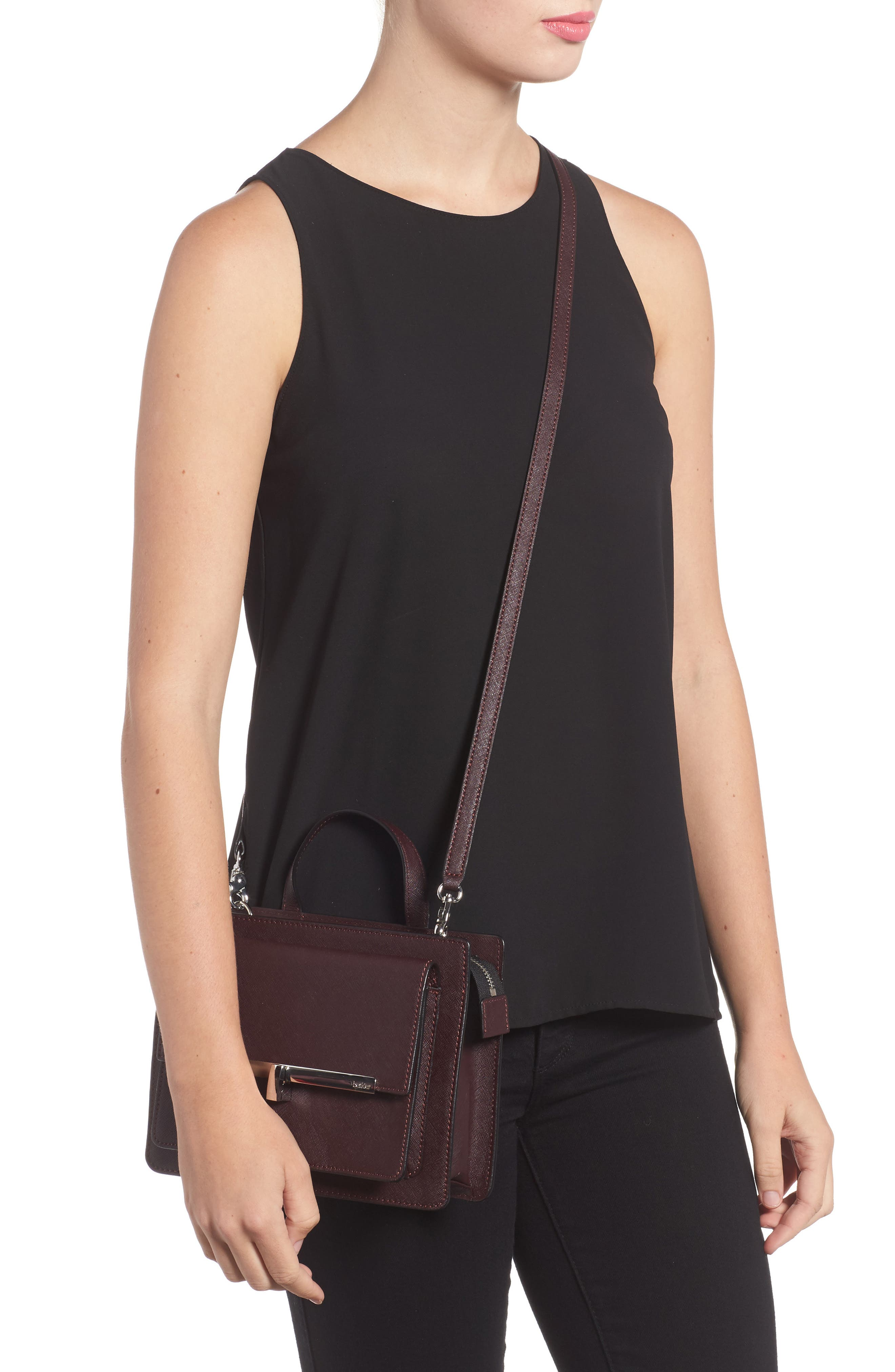 Alternate Image 2  - Botkier Jagger Leather Crossbody Bag